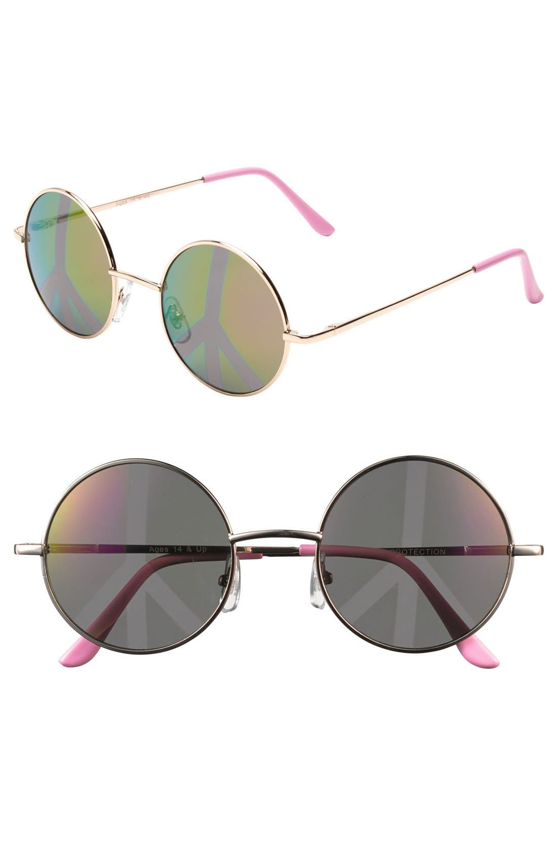 Alternate Image 1 Selected - FE NY 'Love Bug' Sunglasses