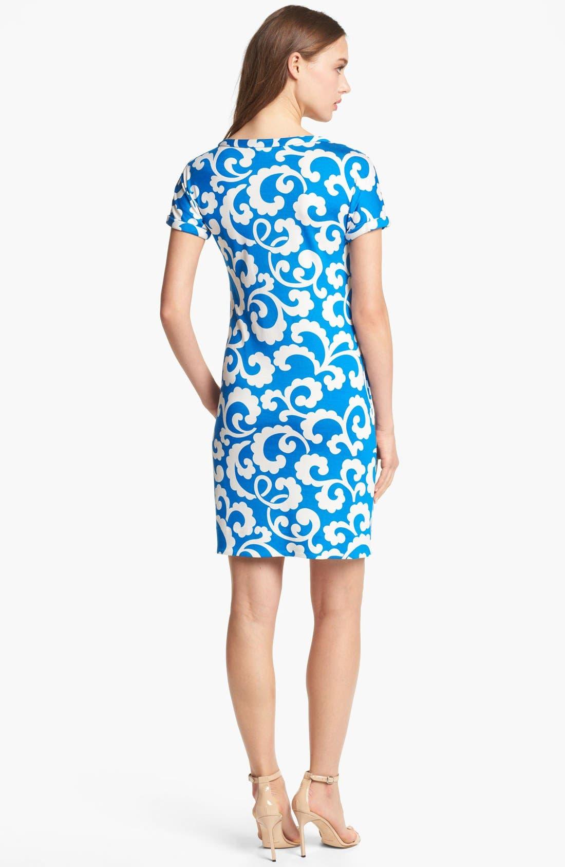 Alternate Image 2  - Diane von Furstenberg 'Beth' Silk Shift Dress
