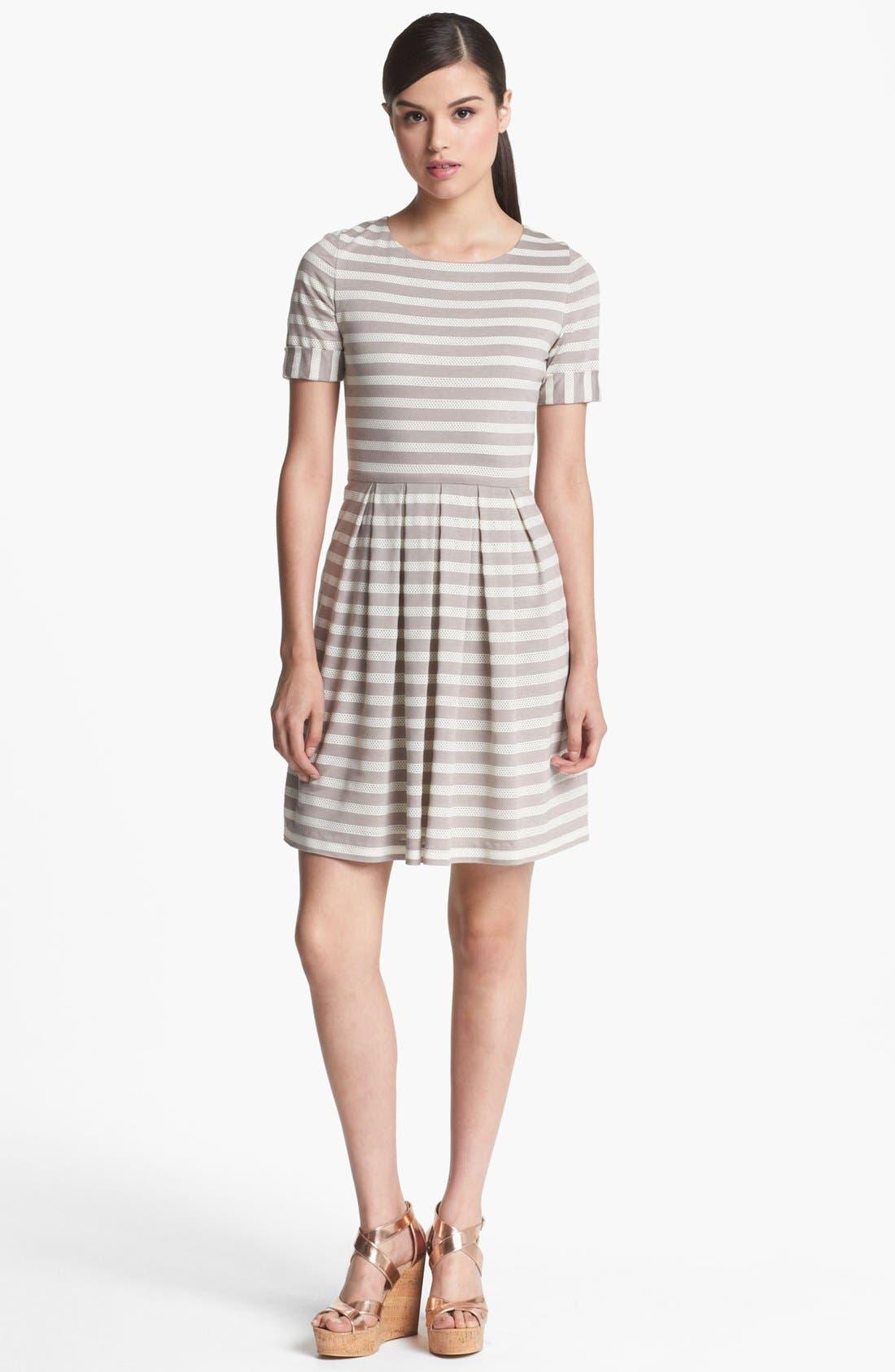Alternate Image 1 Selected - Ivy & Blu Roll Sleeve Knit Dress