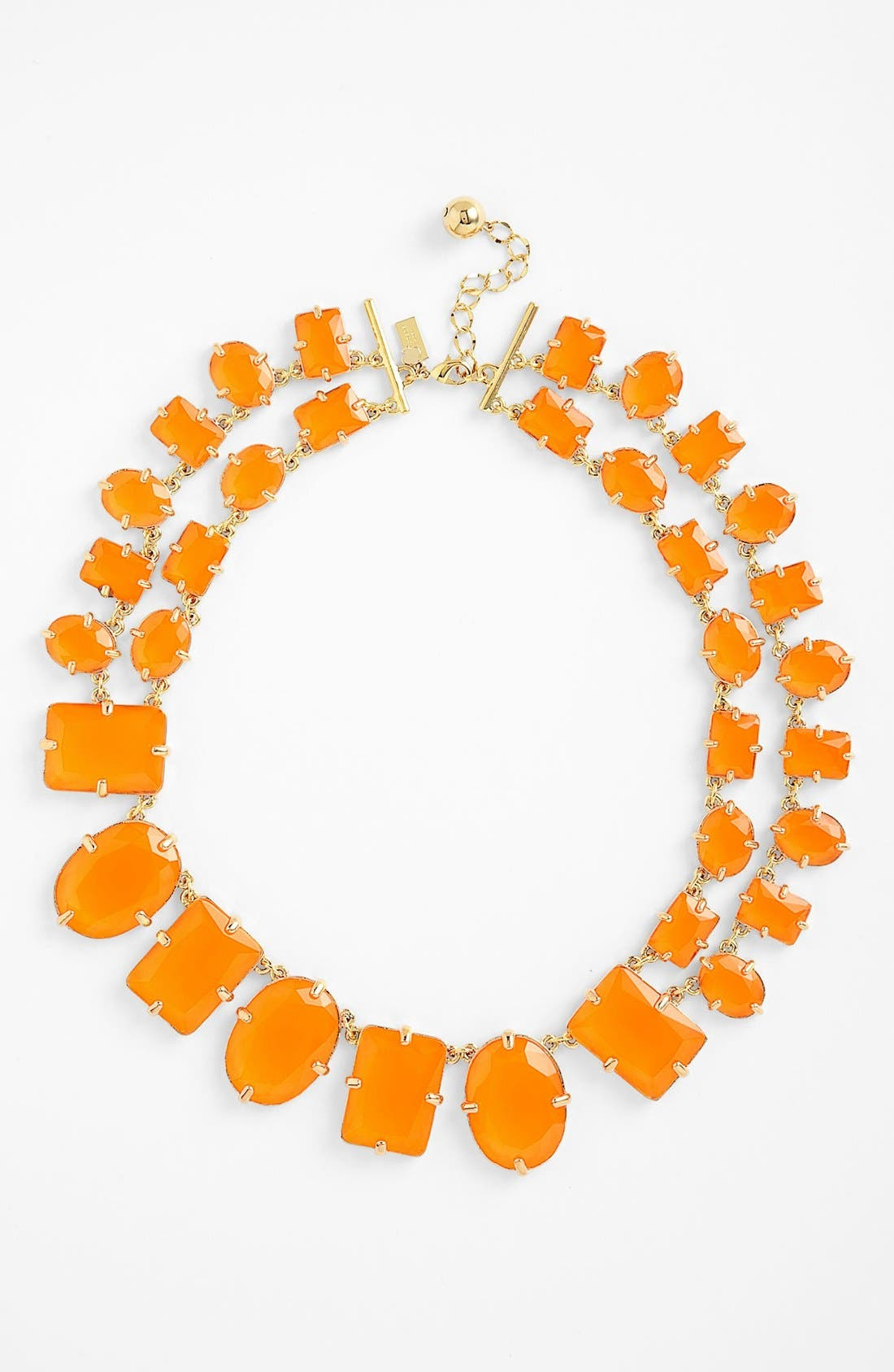 Main Image - kate spade new york 'coated confetti' collar necklace