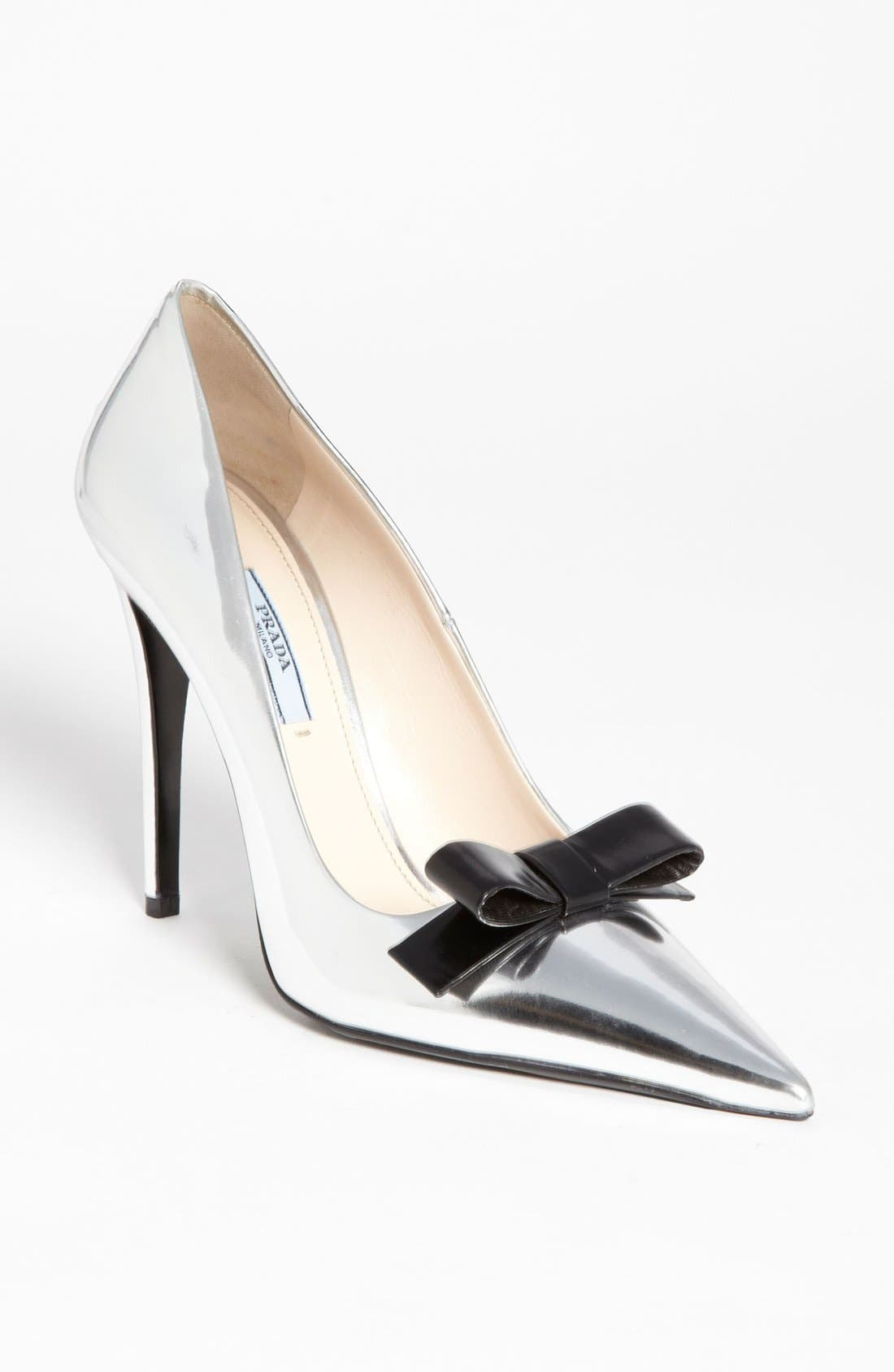 Main Image - Prada Pointy Toe Pump