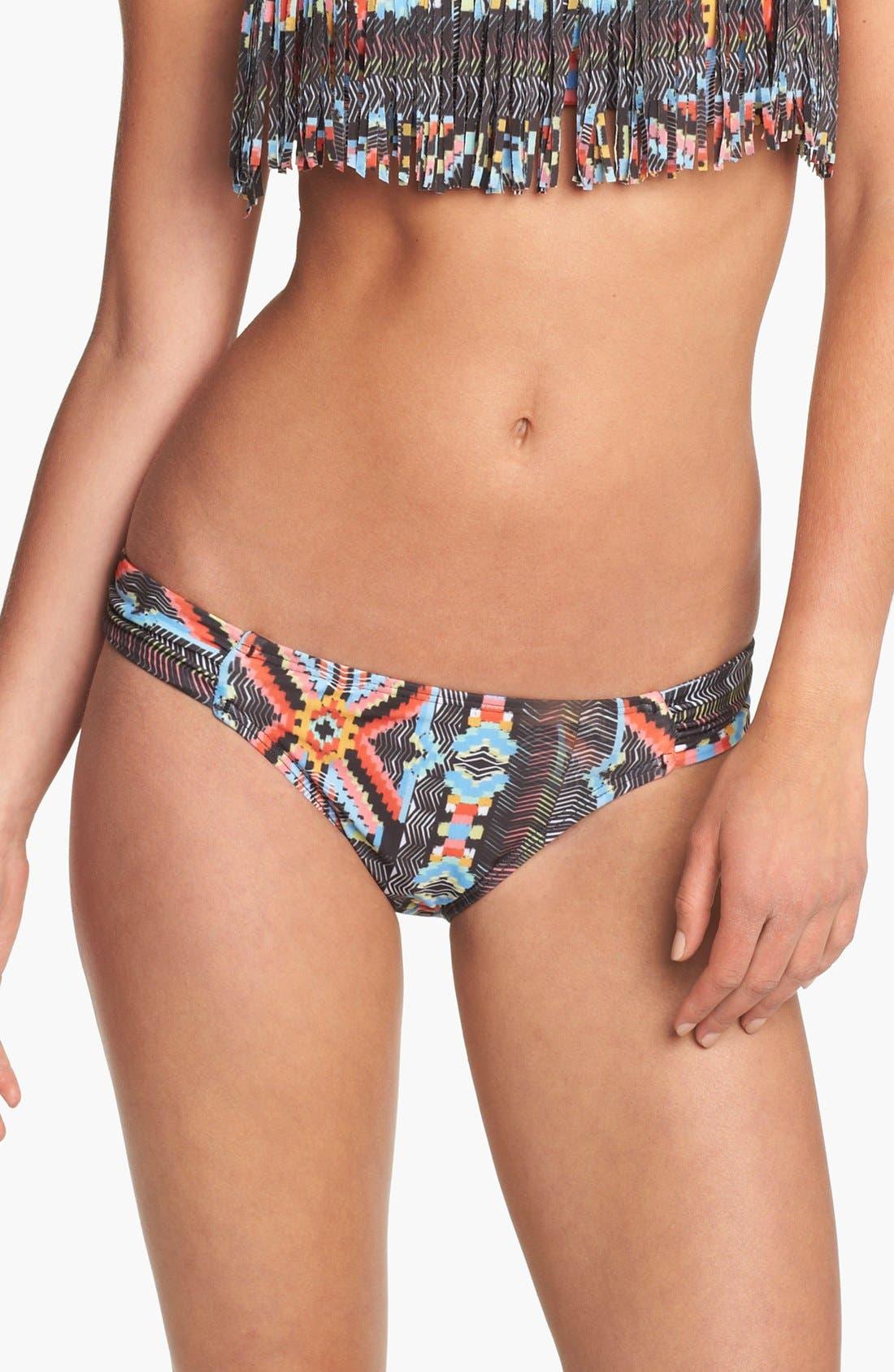 Alternate Image 1 Selected - L Space 'Foxy' Side Tab Bikini Bottoms