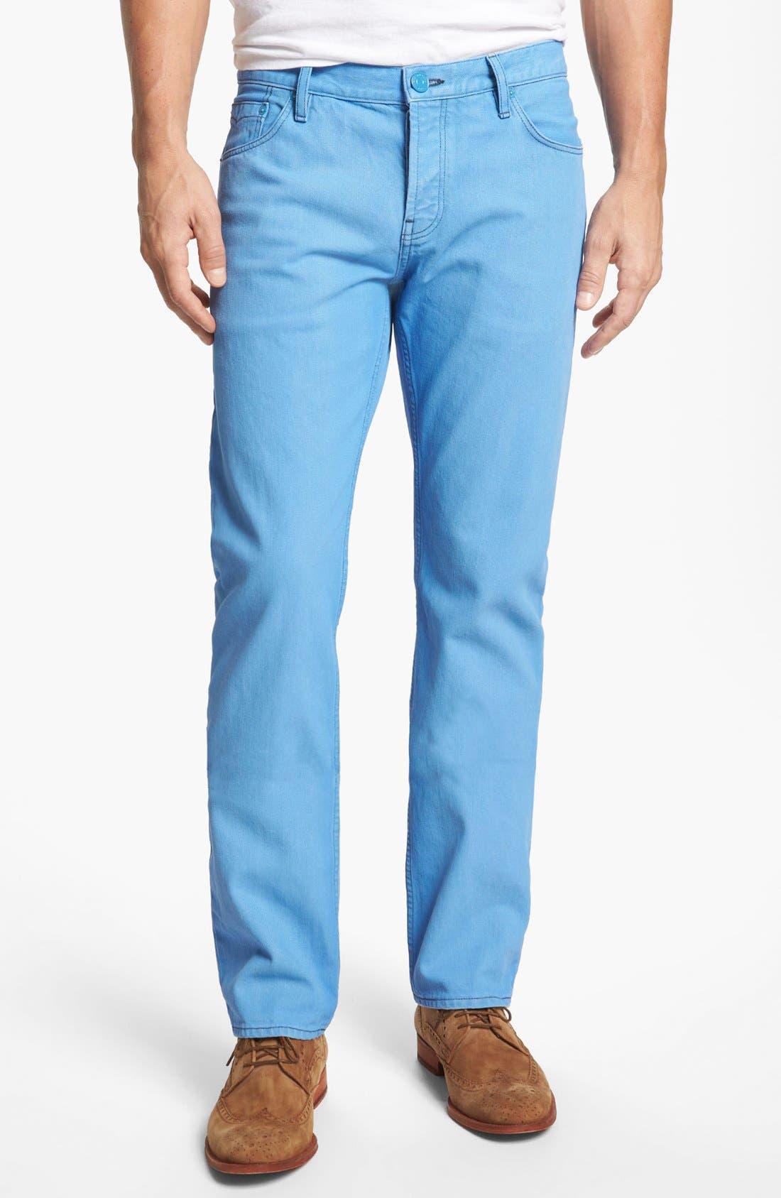 Alternate Image 1 Selected - Burberry Brit 'Steadman' Straight Leg Jeans