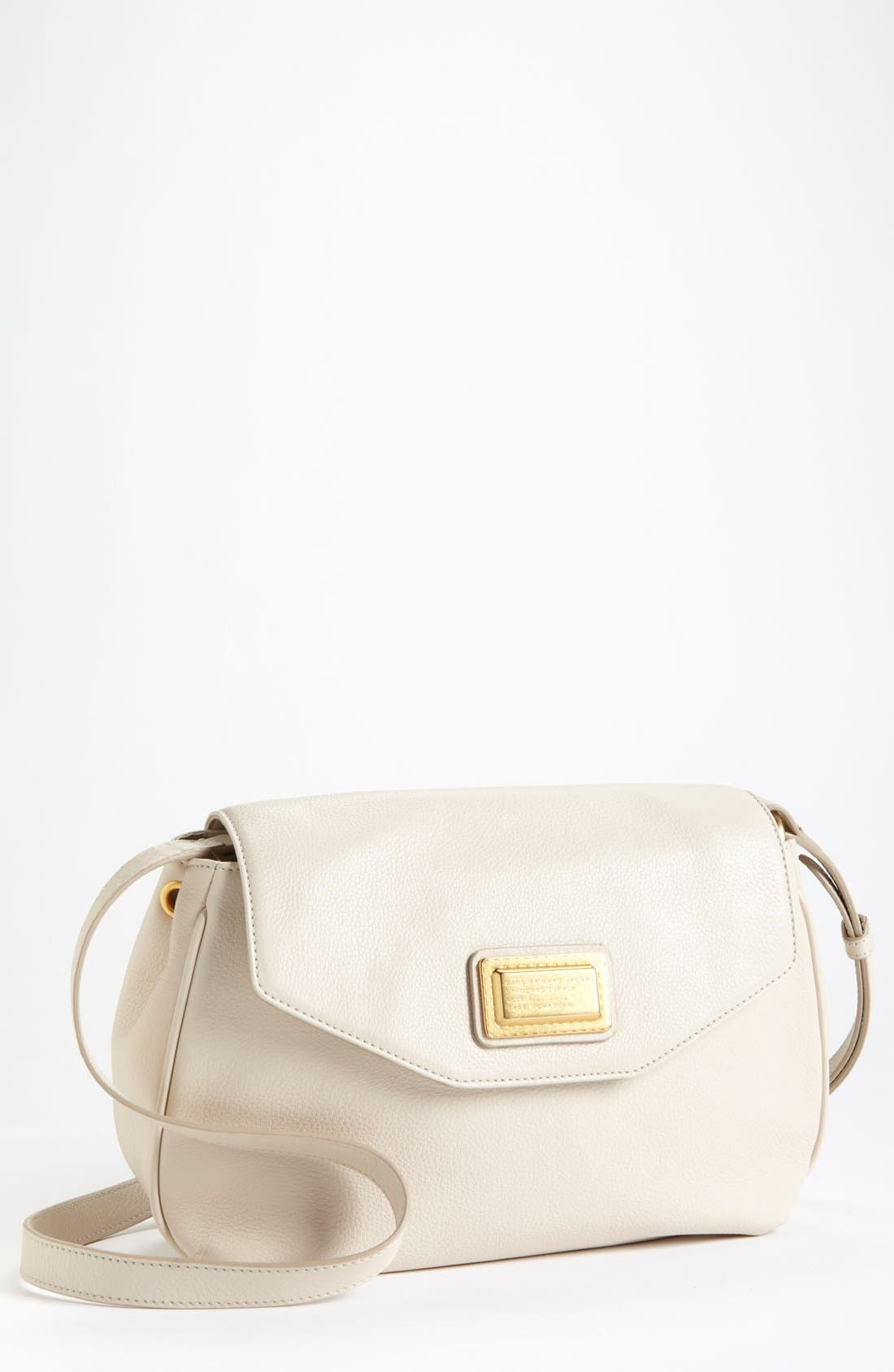 Alternate Image 1 Selected - MARC BY MARC JACOBS 'Medium Flap' Leather Crossbody Bag