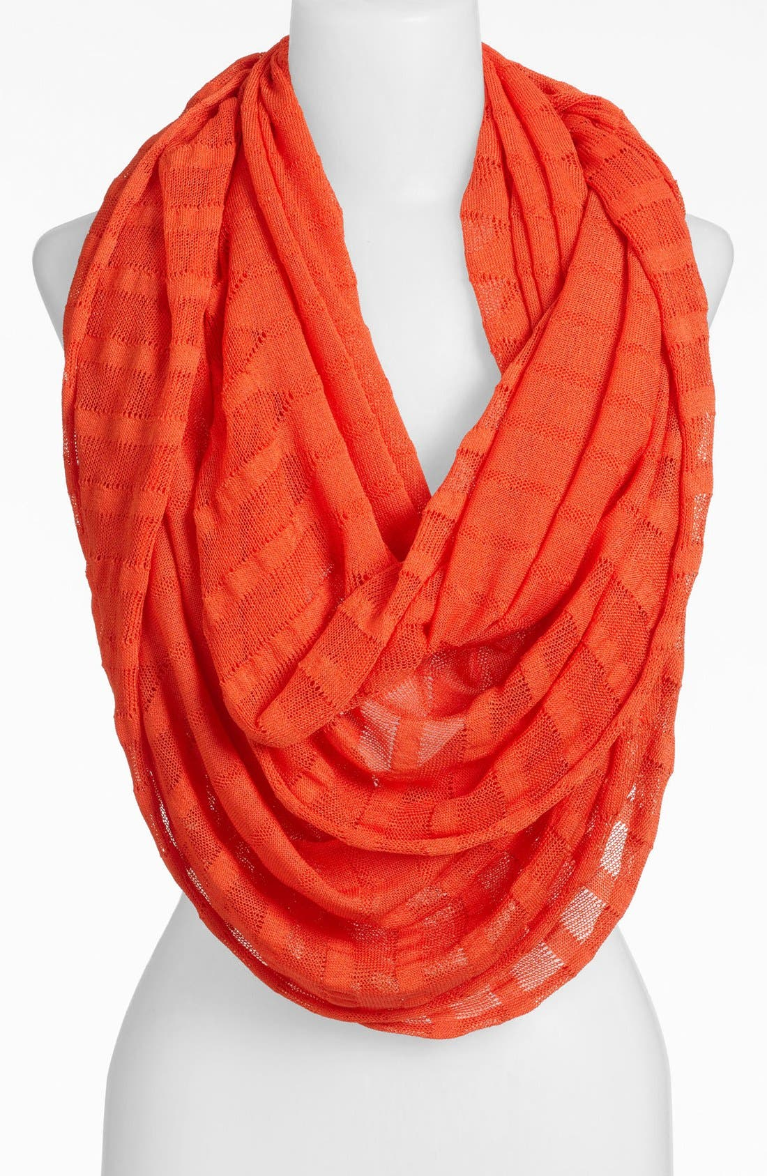 Alternate Image 1 Selected - Halogen® 'Geo Stitch' Infinity Scarf
