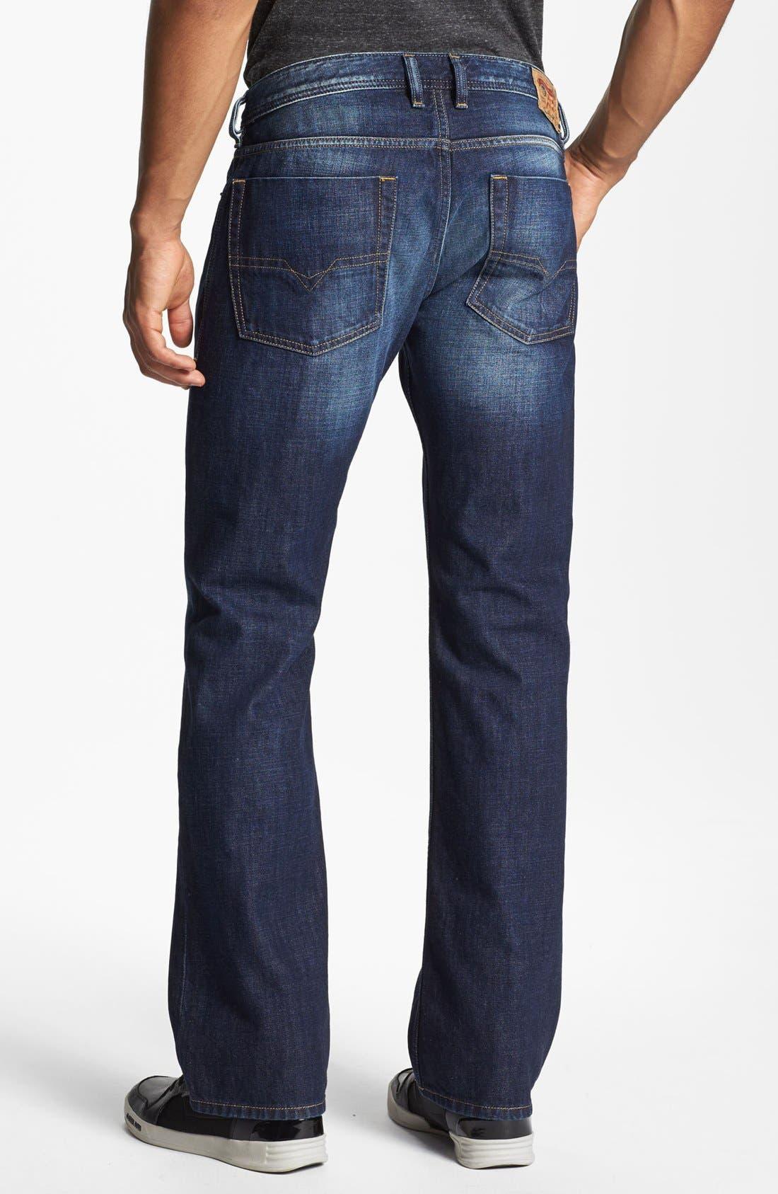 Alternate Image 1 Selected - DIESEL® 'Zatiny' Bootcut Jeans (074W)