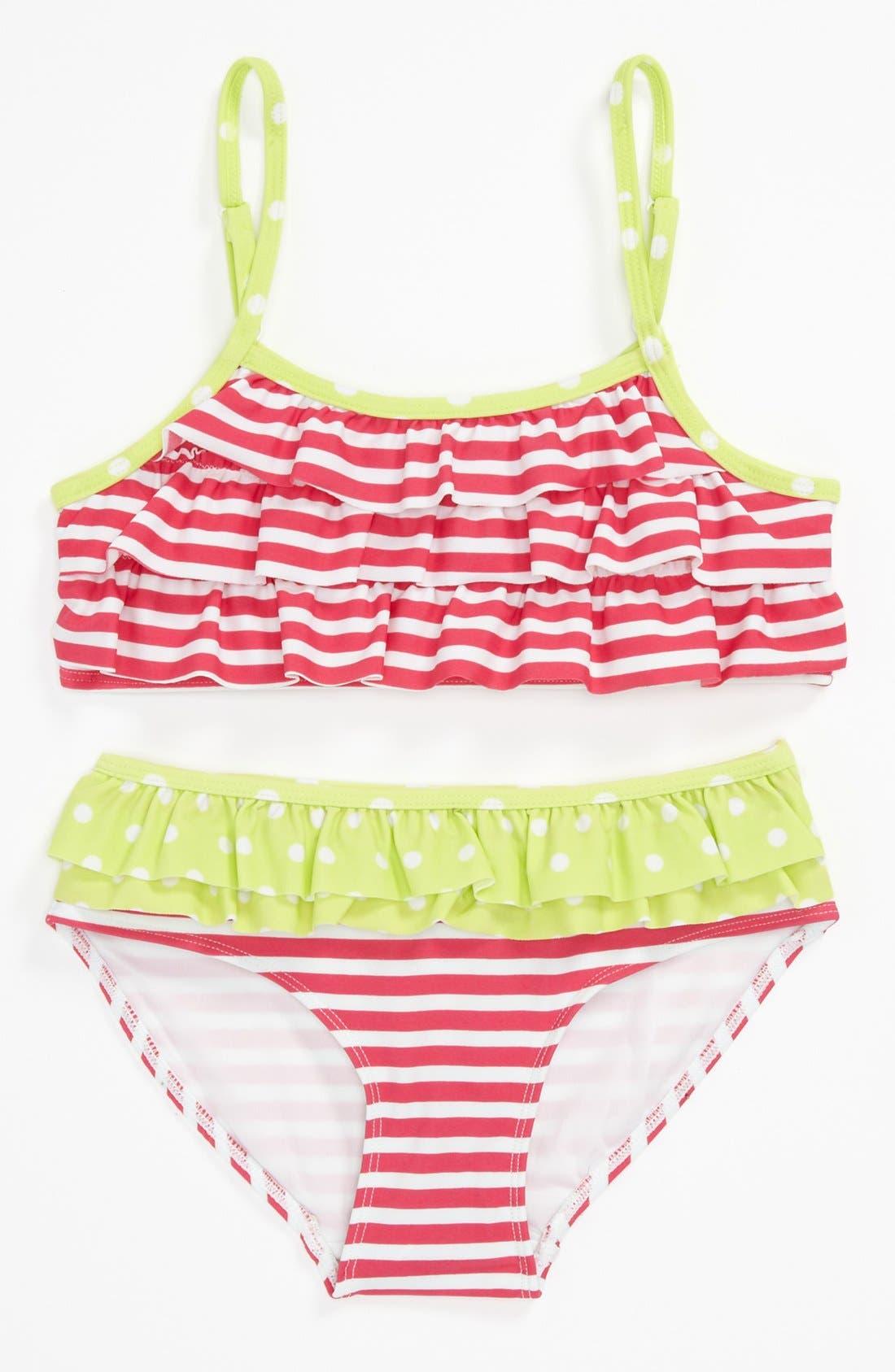 Main Image - Tucker + Tate Two Piece Swimsuit (Little Girls & Big Girls)