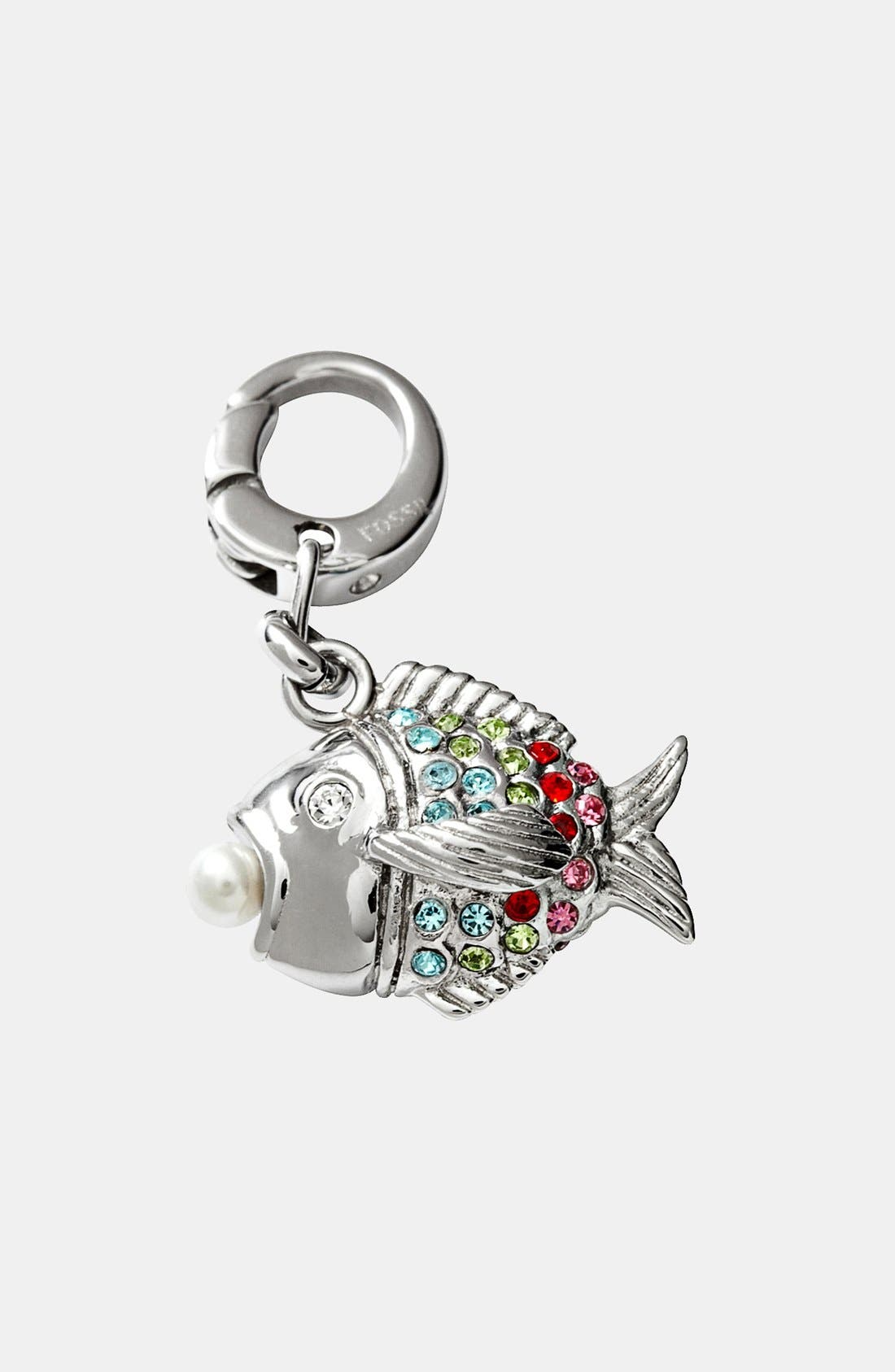 Alternate Image 1 Selected - Fossil Fish Charm