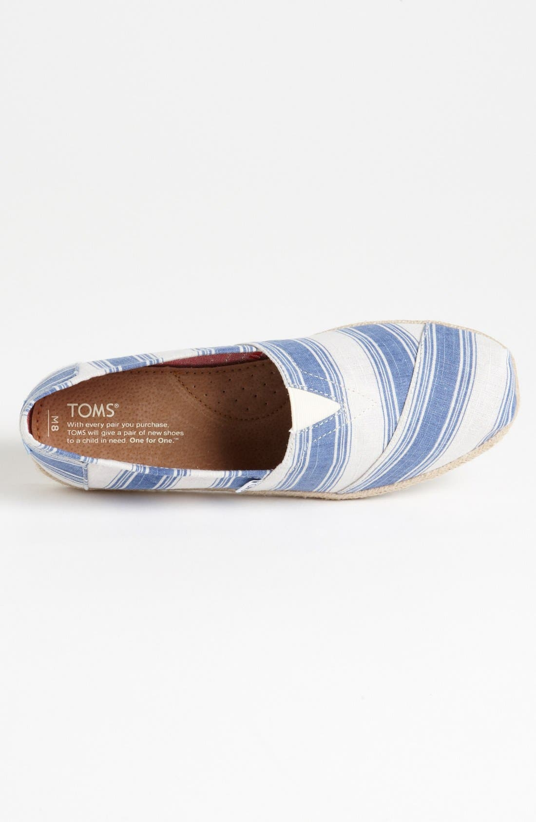 Alternate Image 3  - TOMS 'Classic' Slip-On (Men)