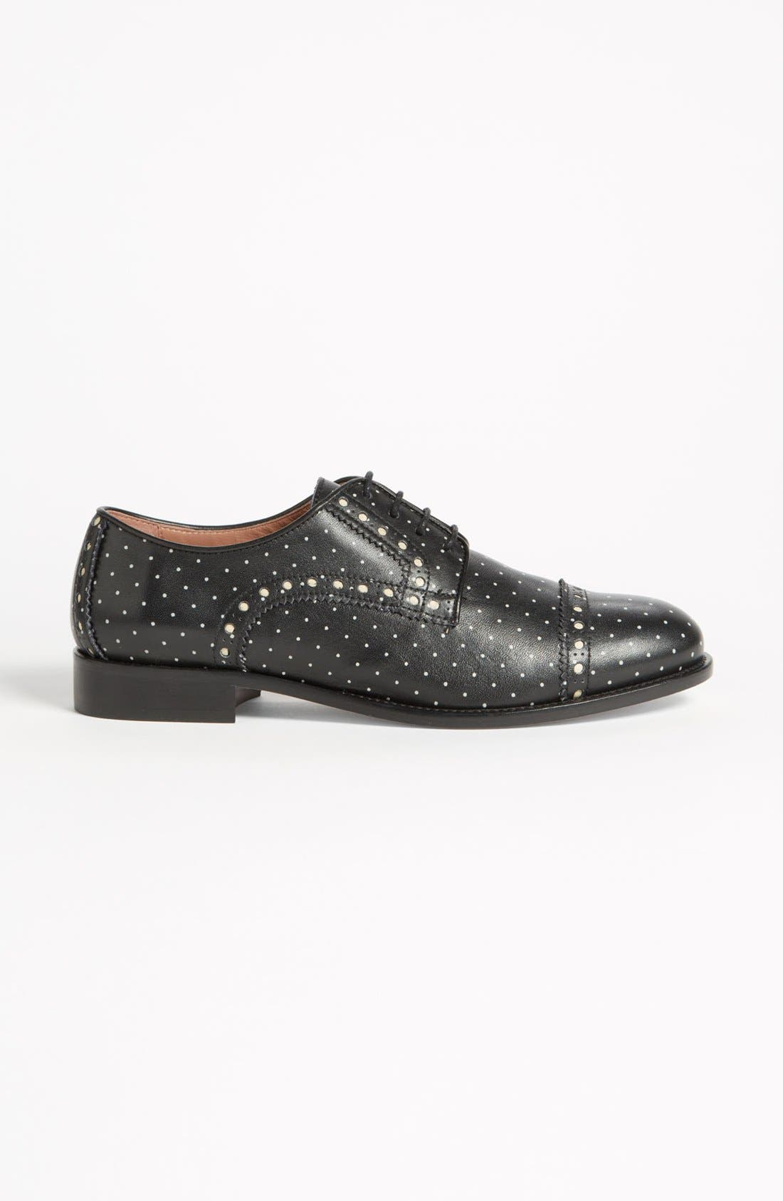 Alternate Image 4  - RED Valentino 'Polka Dot' Oxford