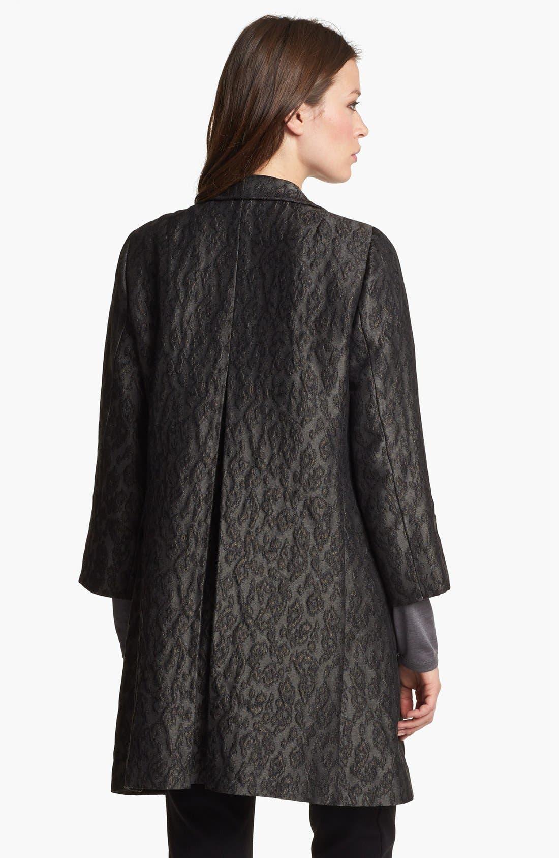 Alternate Image 2  - Eileen Fisher 'Ikat Embers' Jacquard Jacket