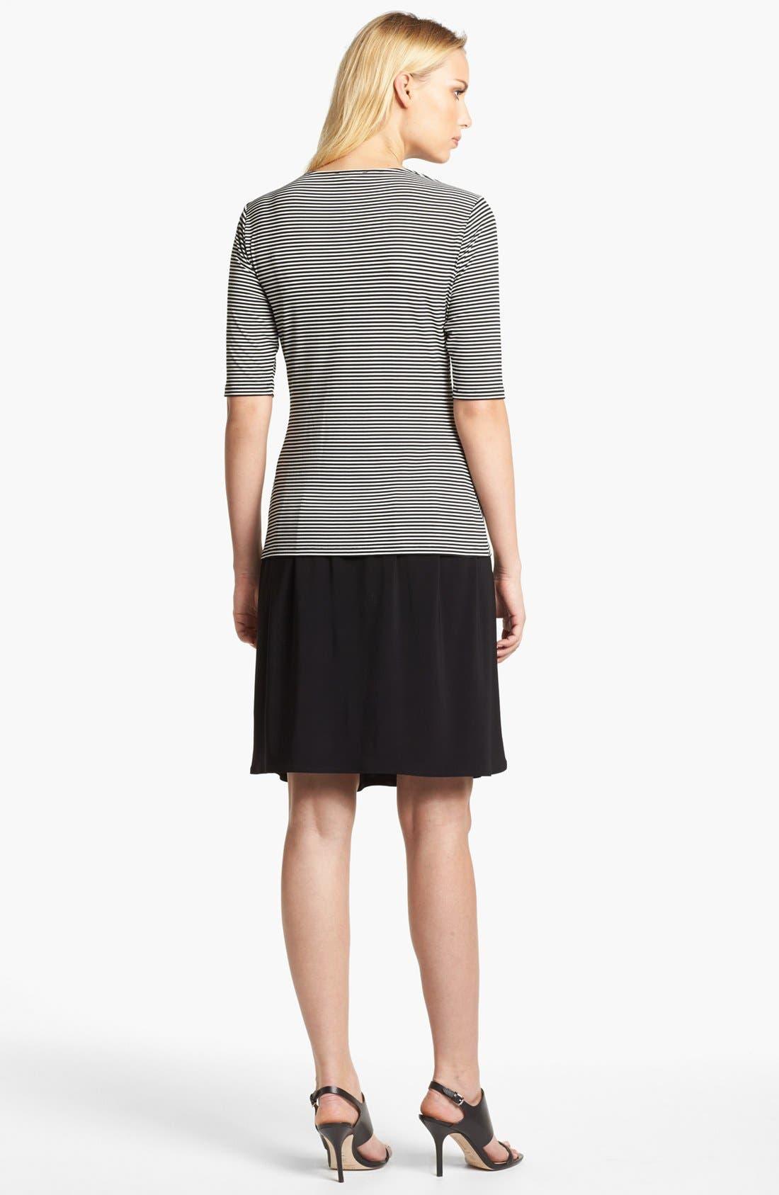 Alternate Image 5  - Chaus Ruched Waist Skirt