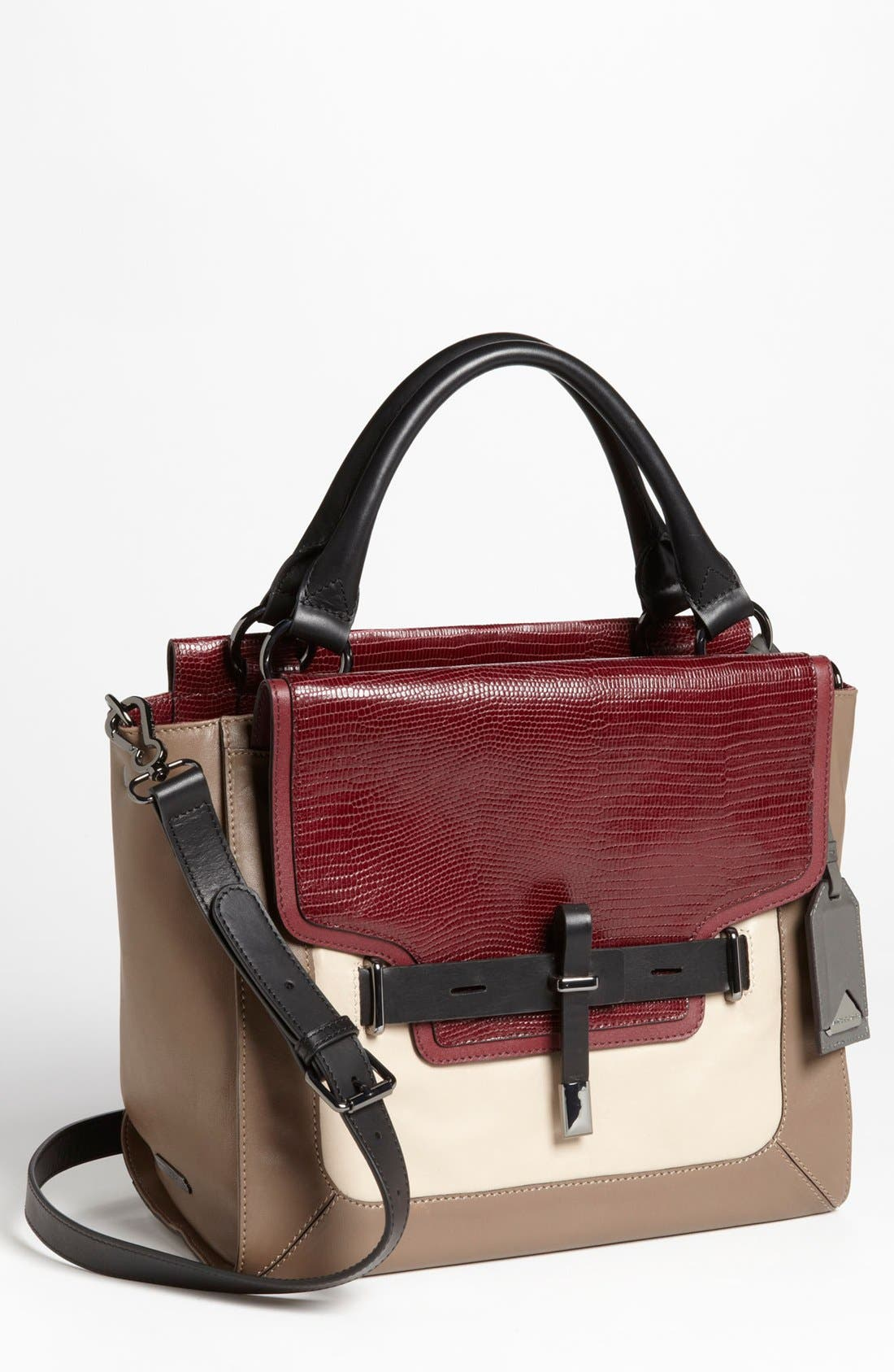 Alternate Image 1 Selected - Vince Camuto 'Max' Leather Satchel, Medium