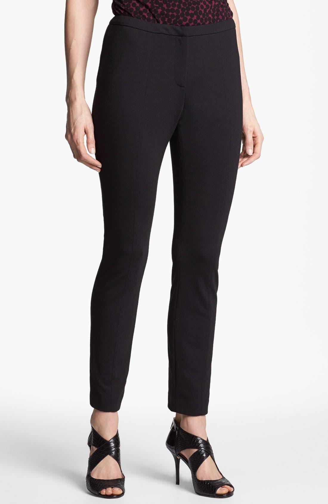 Alternate Image 1 Selected - Halogen® Ponte Ankle Pants
