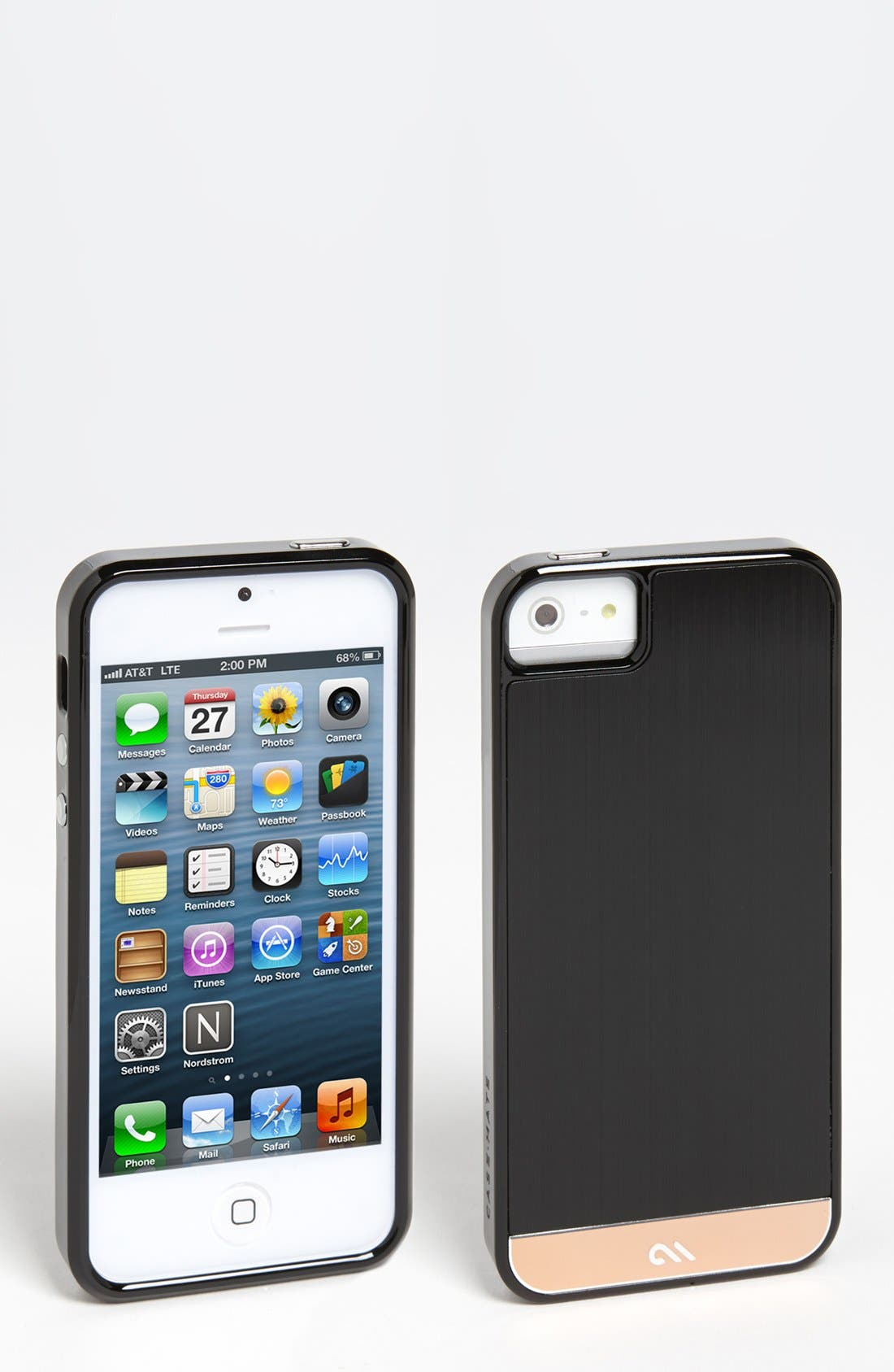 Main Image - Case-Mate® 'Refined Collection' Brushed Aluminum iPhone 5 Case