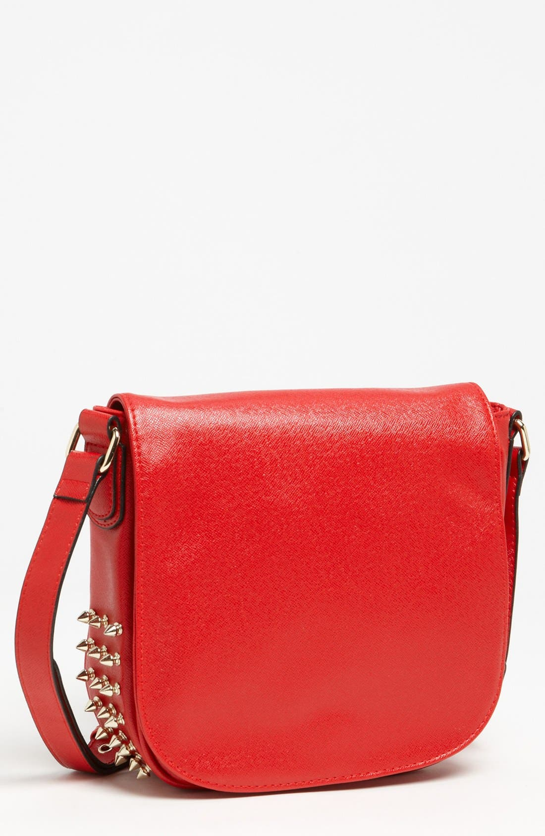 Alternate Image 1 Selected - Emperia Studded Faux Leather Crossbody Bag, Small