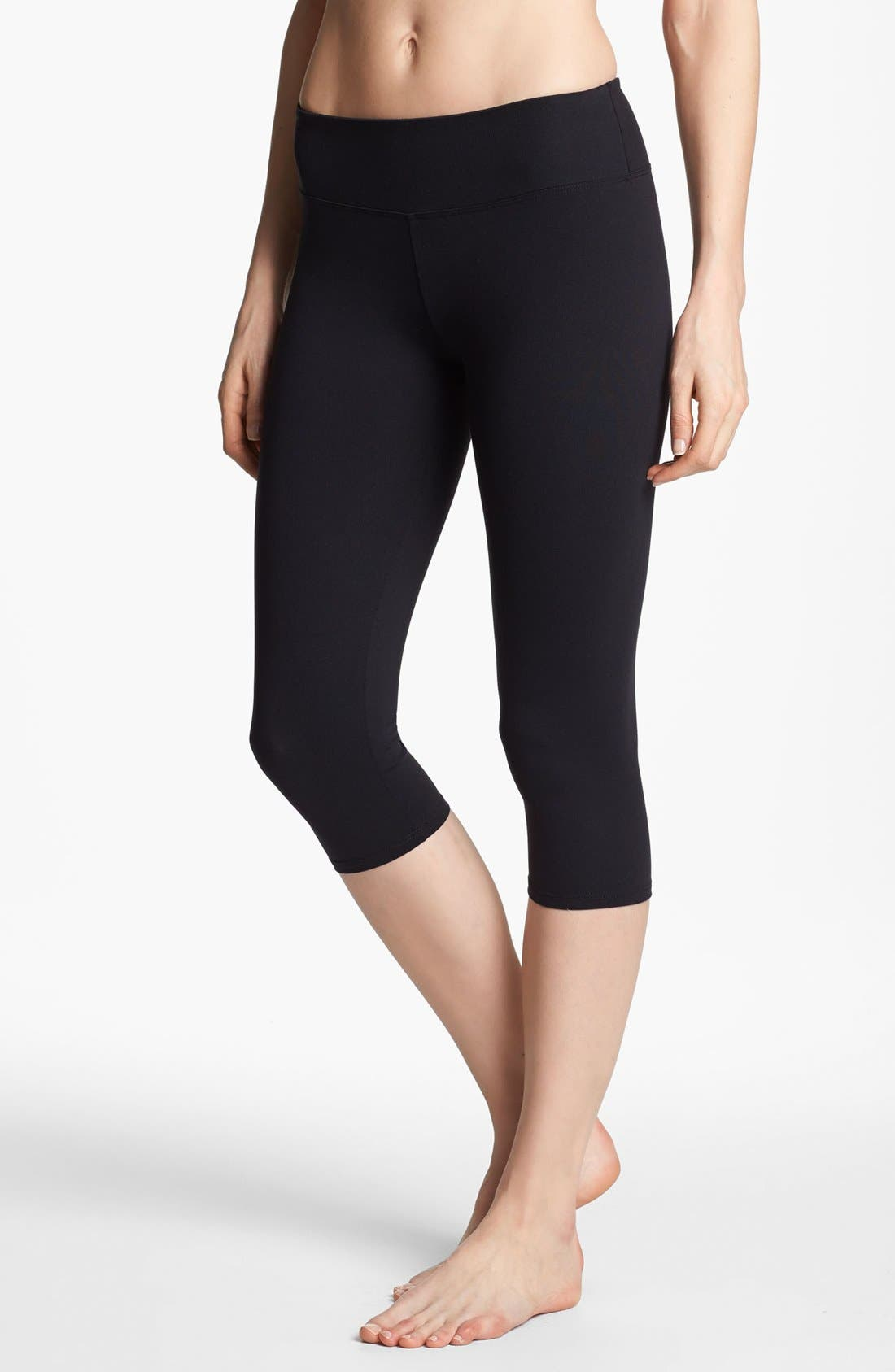 Alternate Image 2  - Solow 'Eclon' Crop Cycling Leggings