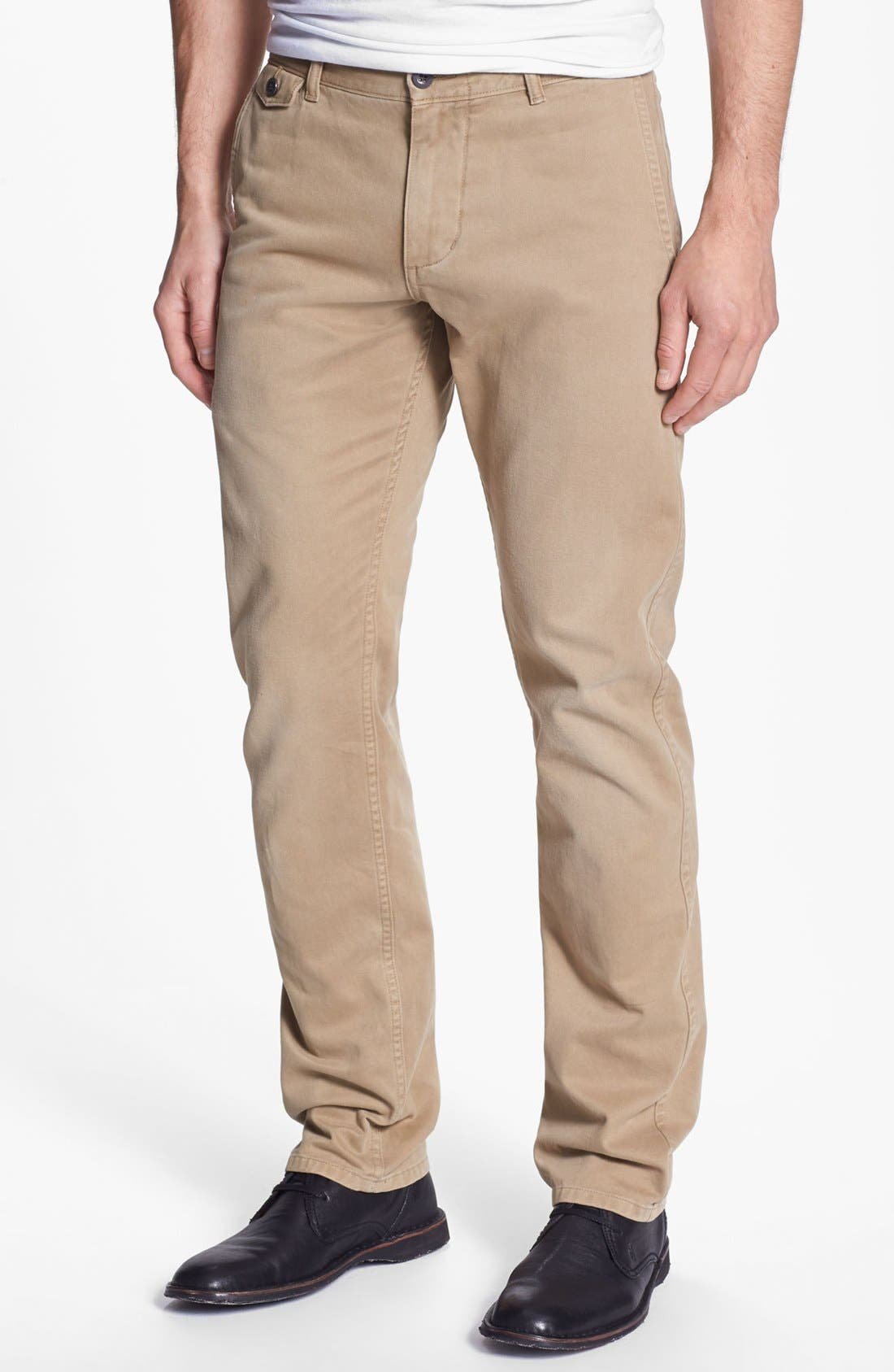 Alternate Image 1 Selected - Dockers® 'Alpha Fogwash' Slim Tapered Leg Chinos