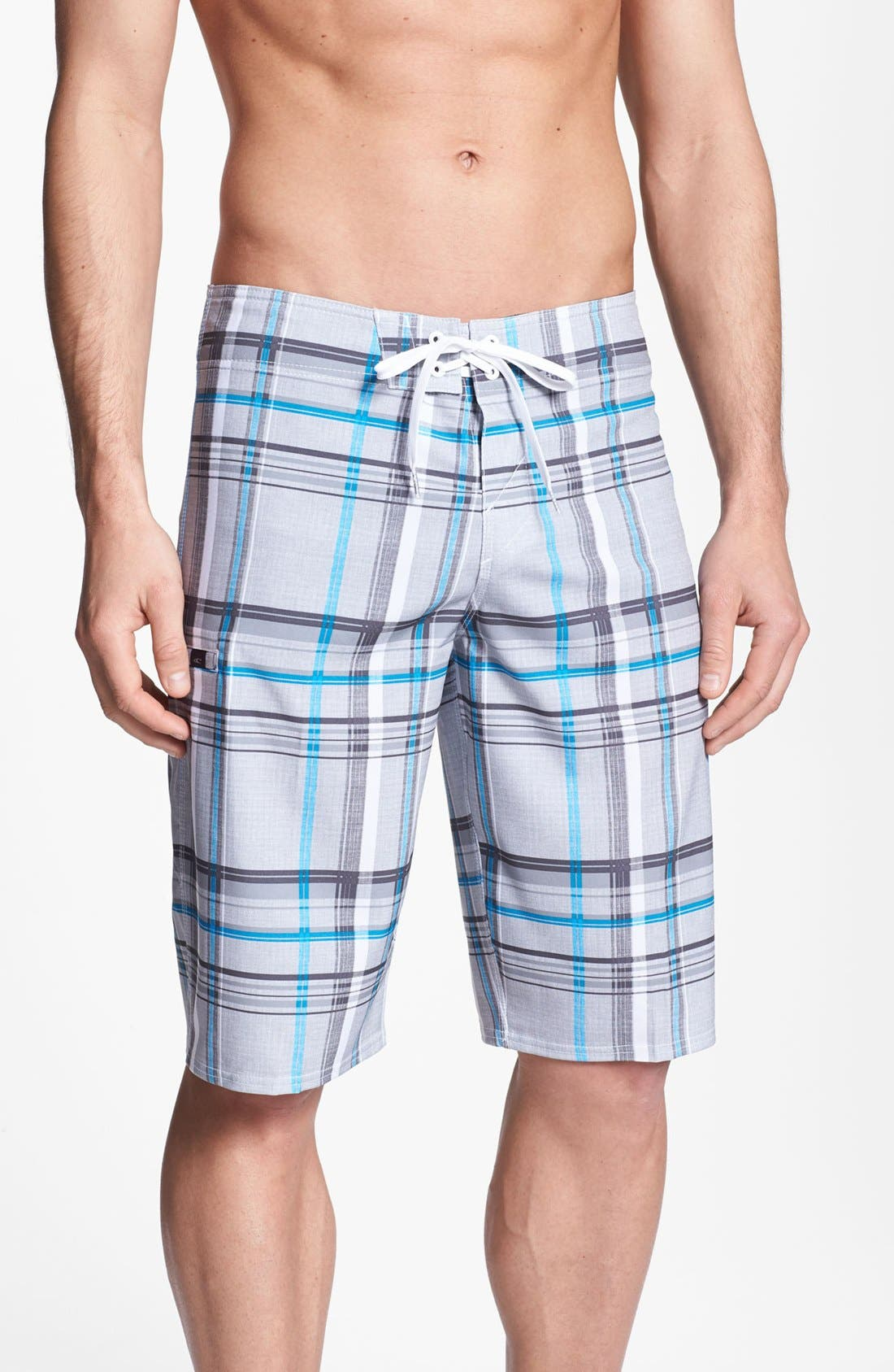 Alternate Image 1 Selected - O'Neill 'Santa Cruz Plaid' Board Shorts