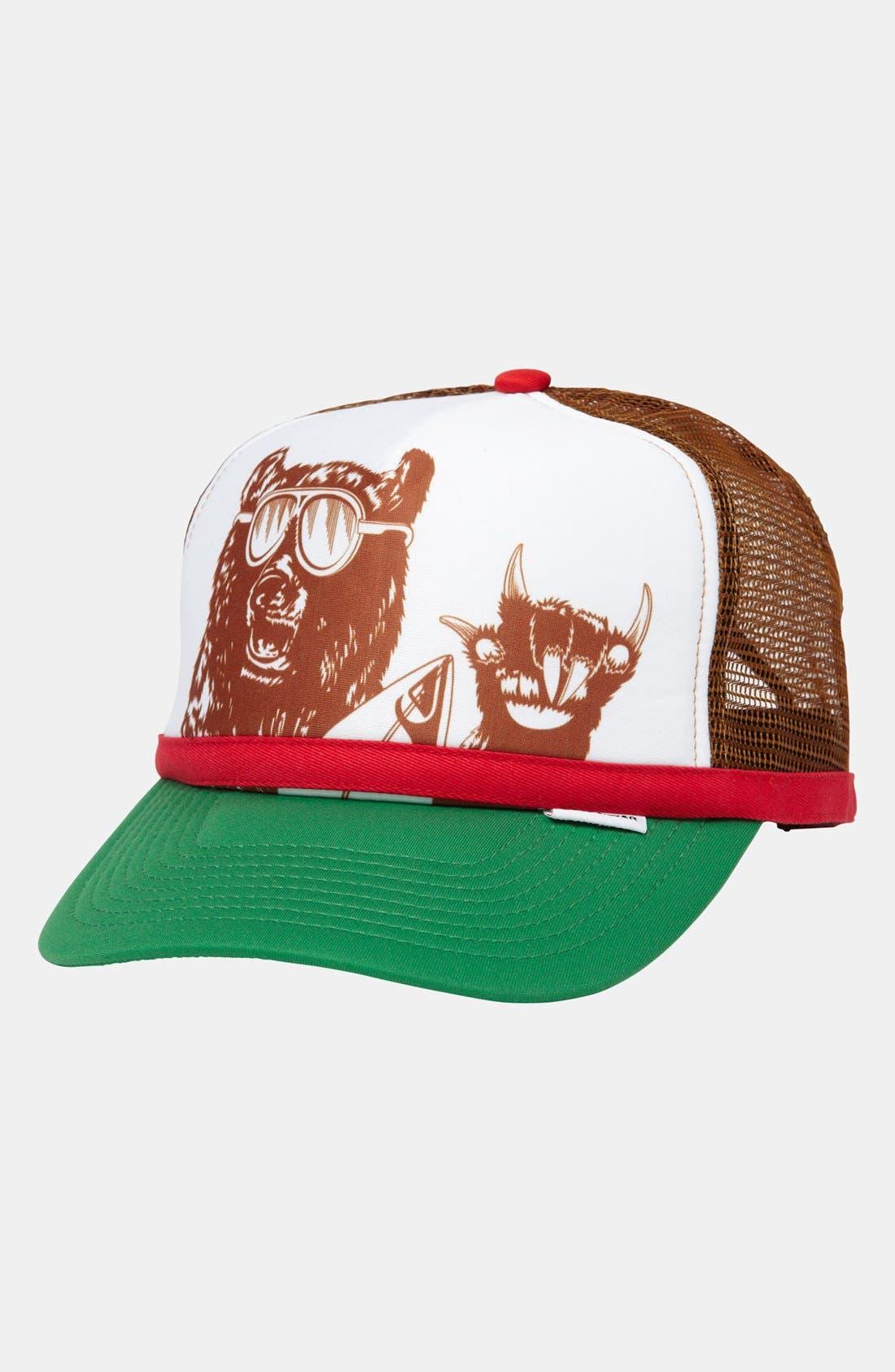 Alternate Image 1 Selected - Quiksilver 'Terg Ferg' Trucker Hat (Boys)