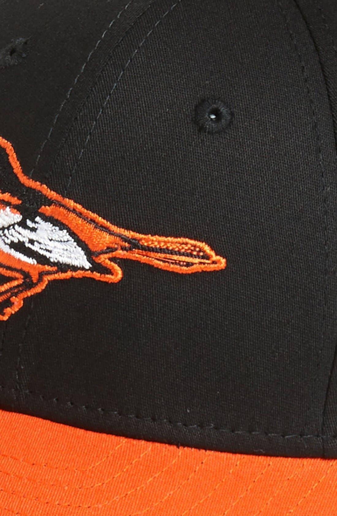 Alternate Image 2  - New Era Cap 'Baltimore Orioles - Tie Breaker' Baseball Cap (Big Boys)