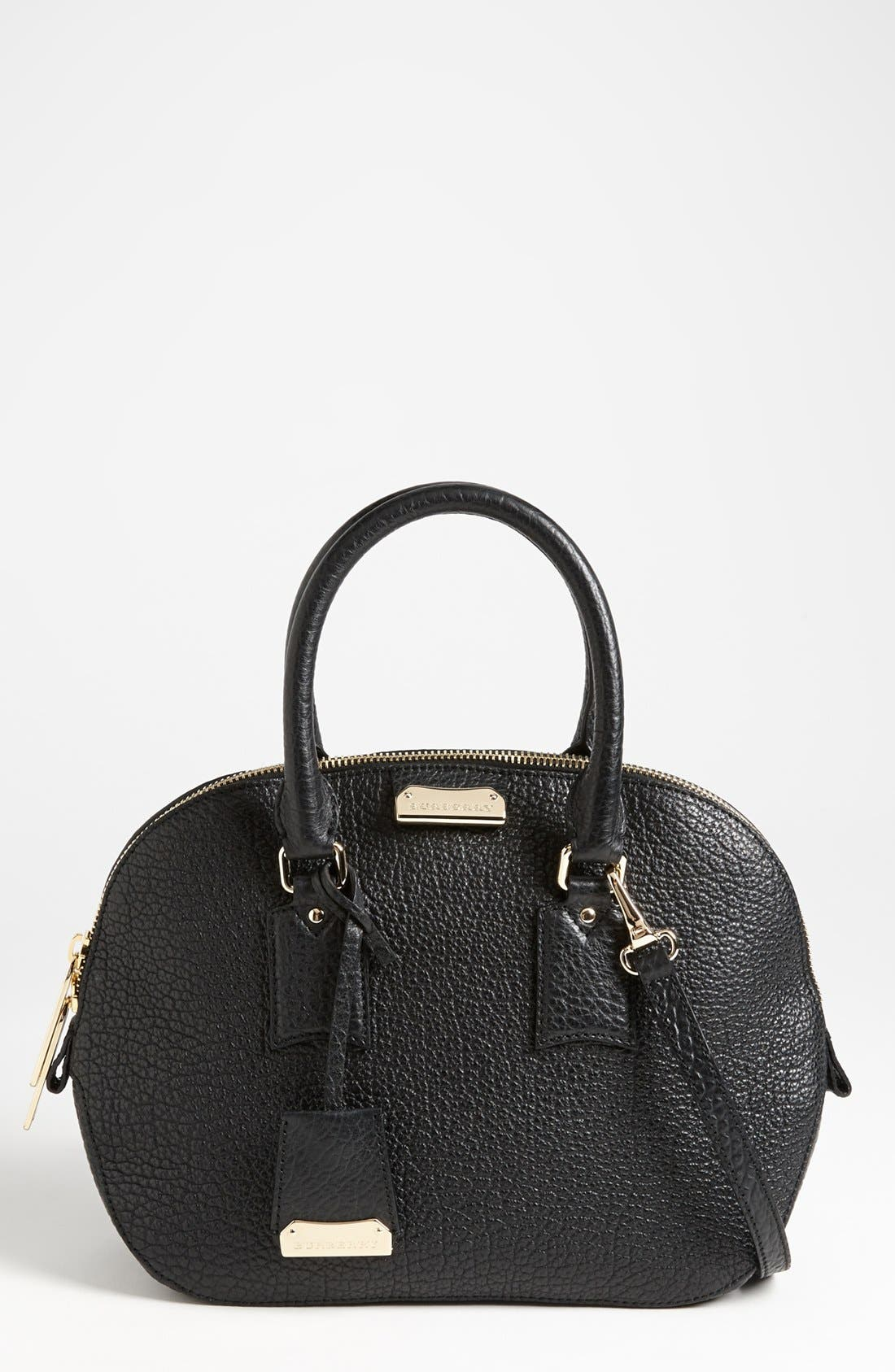 Main Image - Burberry 'Small Orchard' Leather Satchel