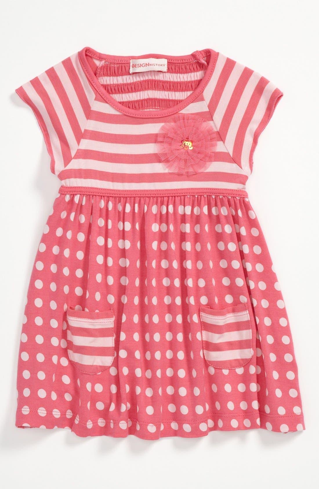 Alternate Image 1 Selected - Design History Dress (Baby)