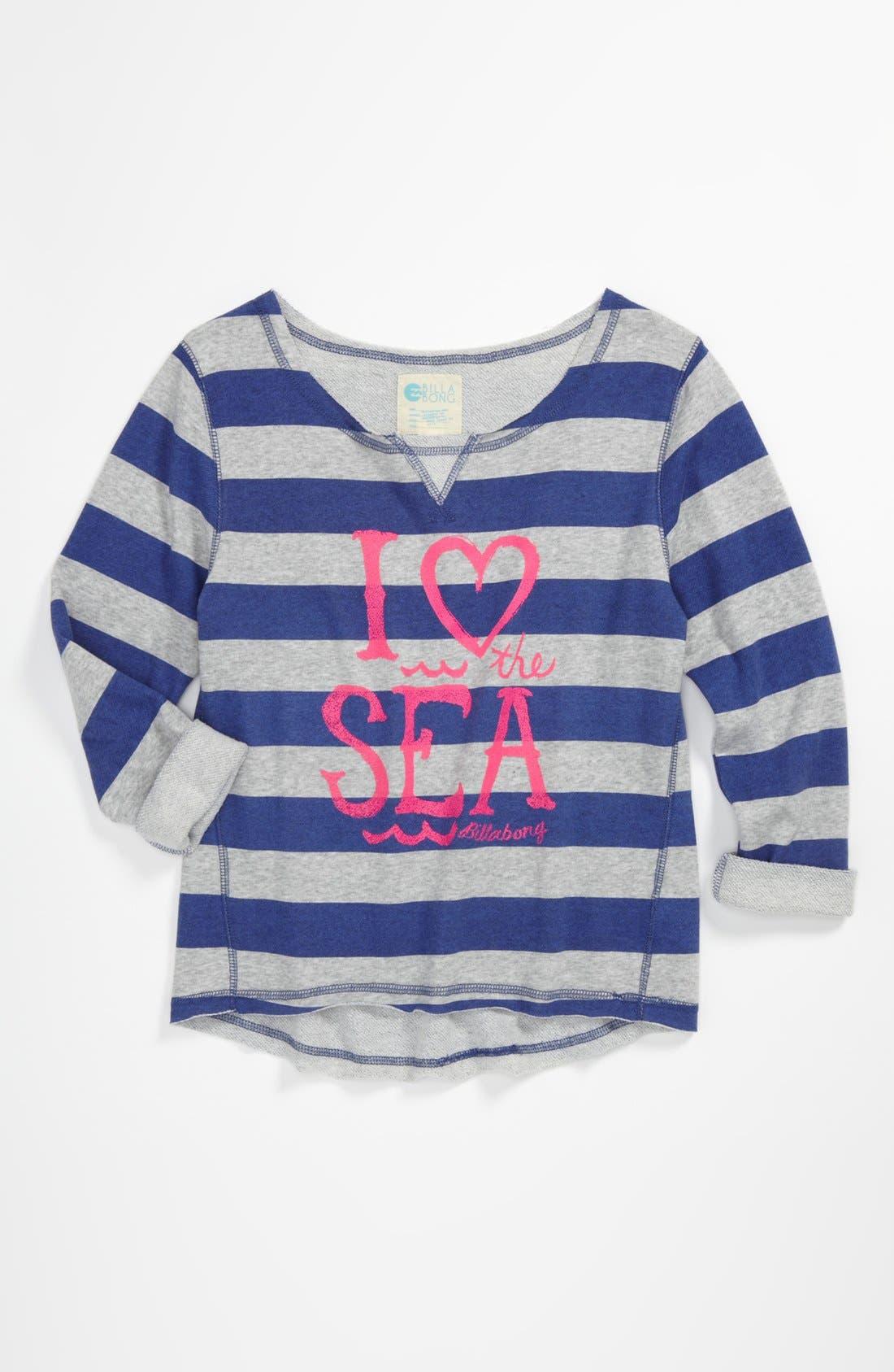 Main Image - Billabong 'Breaking It Down' Sweatshirt (Big Girls)