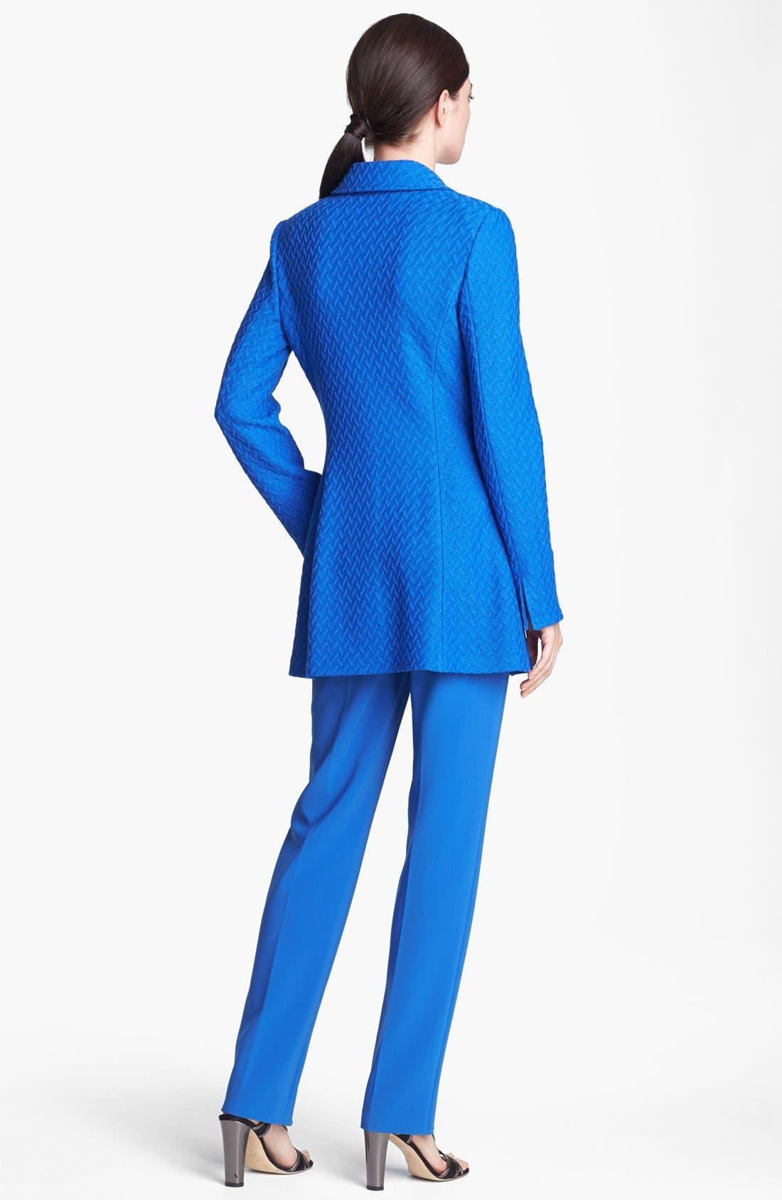 Alternate Image 3  - St. John Collection Long Twist Tweed Jacket