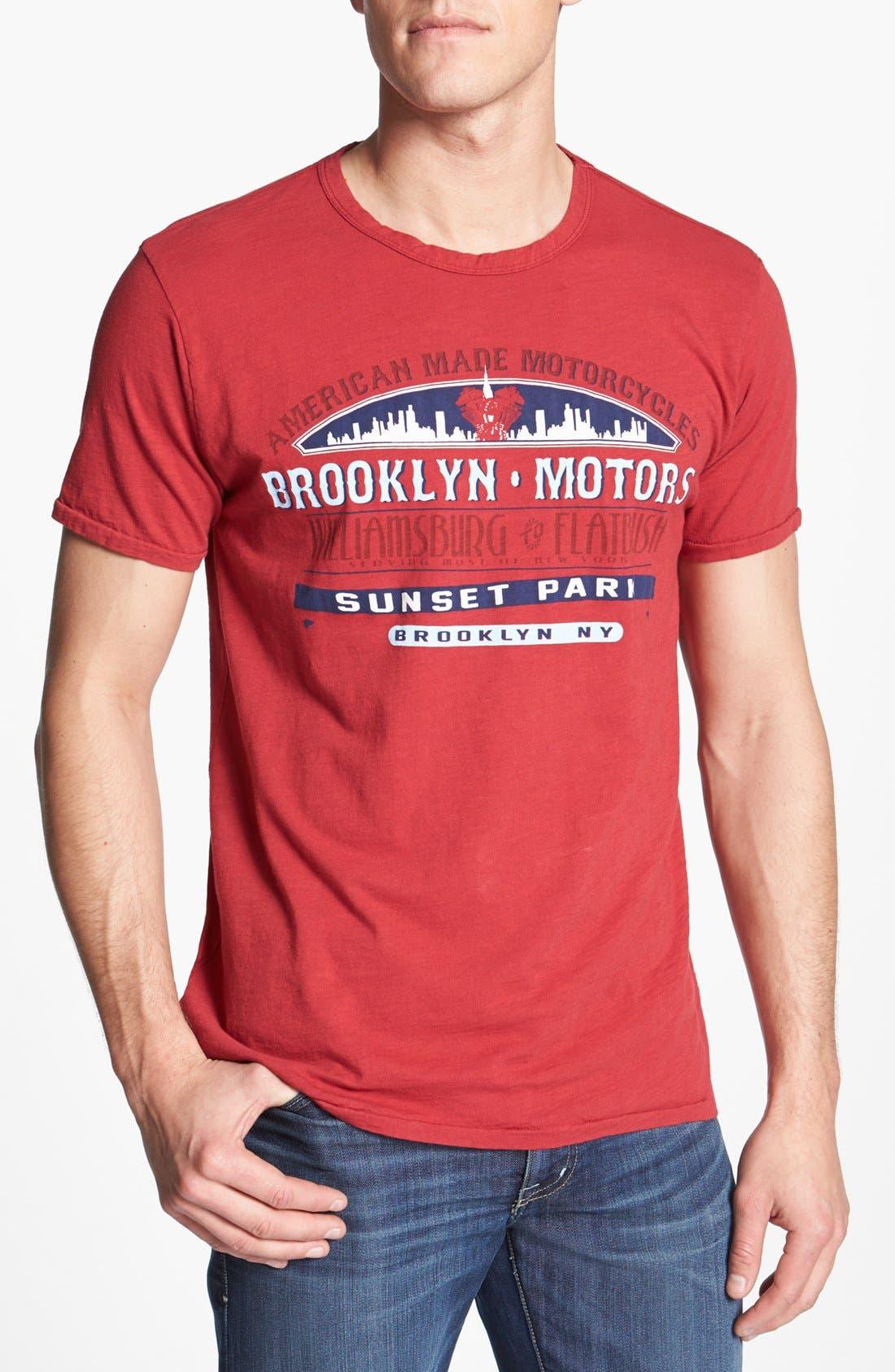 Alternate Image 1 Selected - Brooklyn Motors 'Sunset Park' T-Shirt