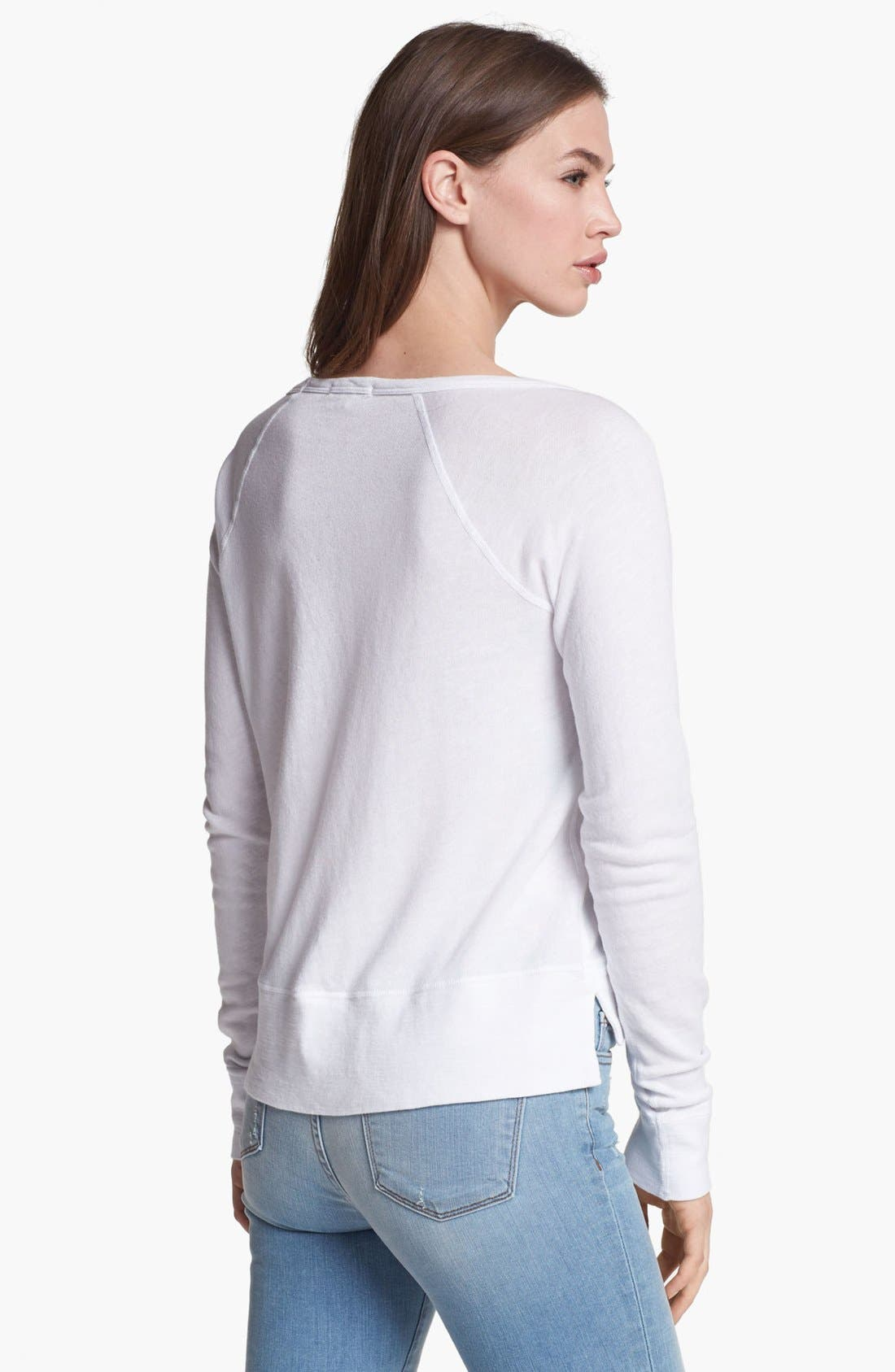 Alternate Image 2  - James Perse Raglan Pullover
