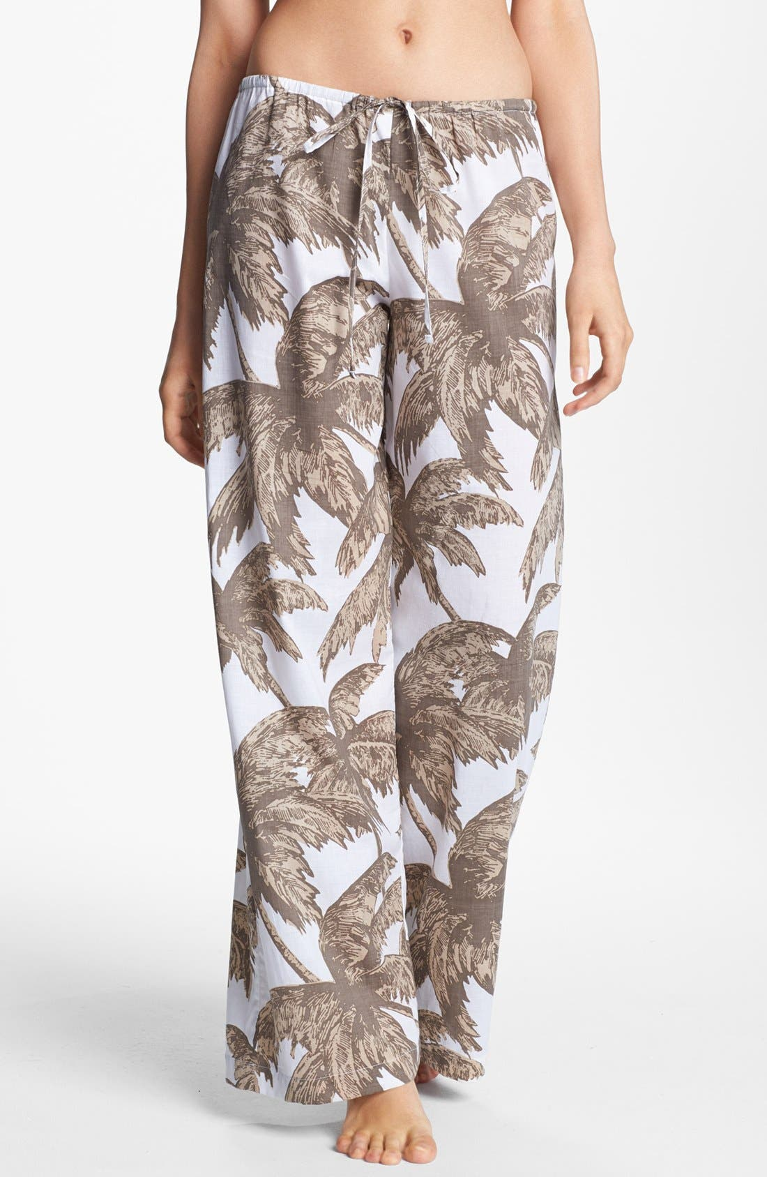 Alternate Image 1 Selected - Tommy Bahama 'Coconut Grove Palm' Cover-Up Pants