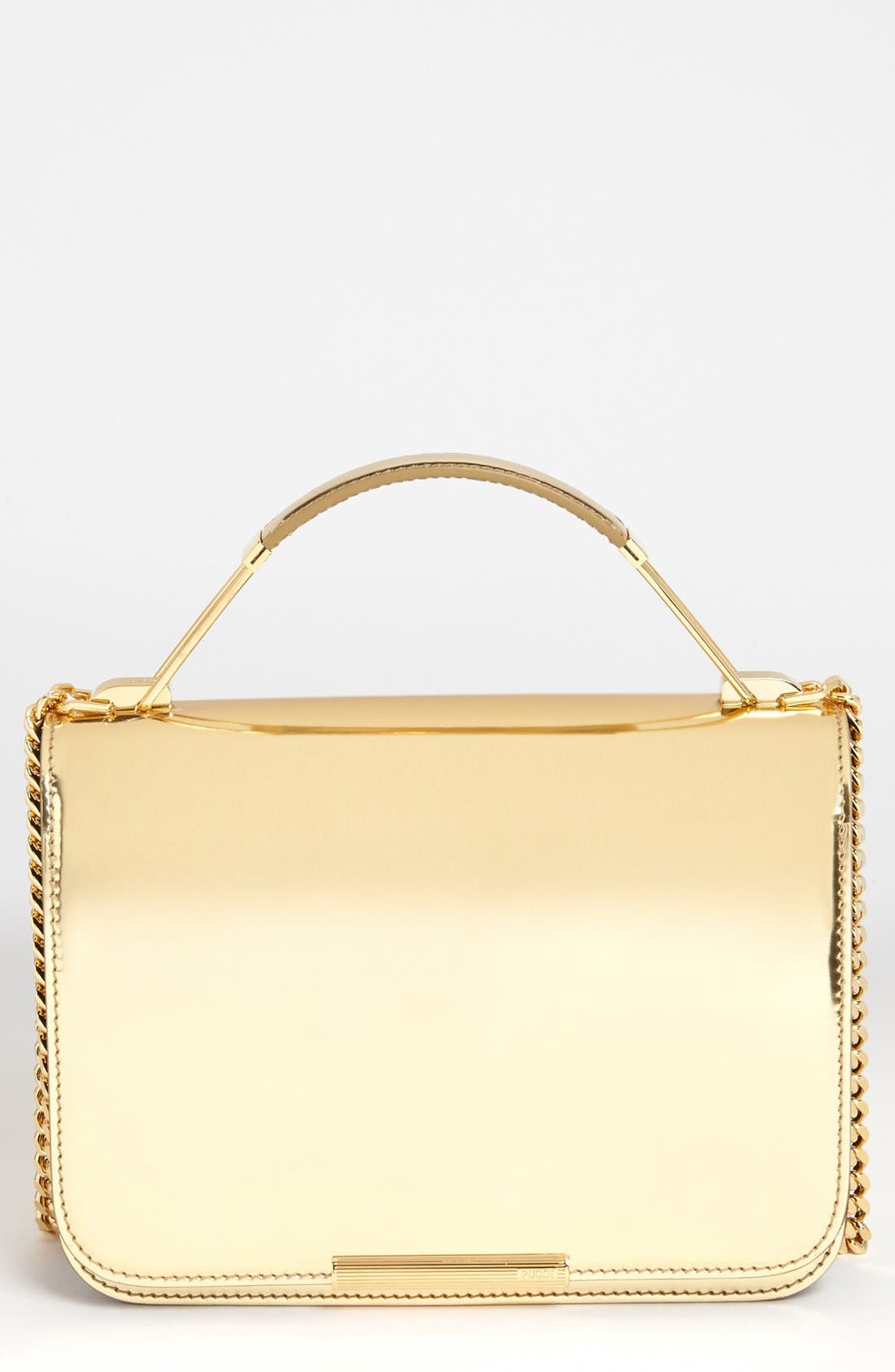 Alternate Image 1 Selected - Emilio Pucci 'Newton Laminated - Small' Partitioned Leather Shoulder Bag