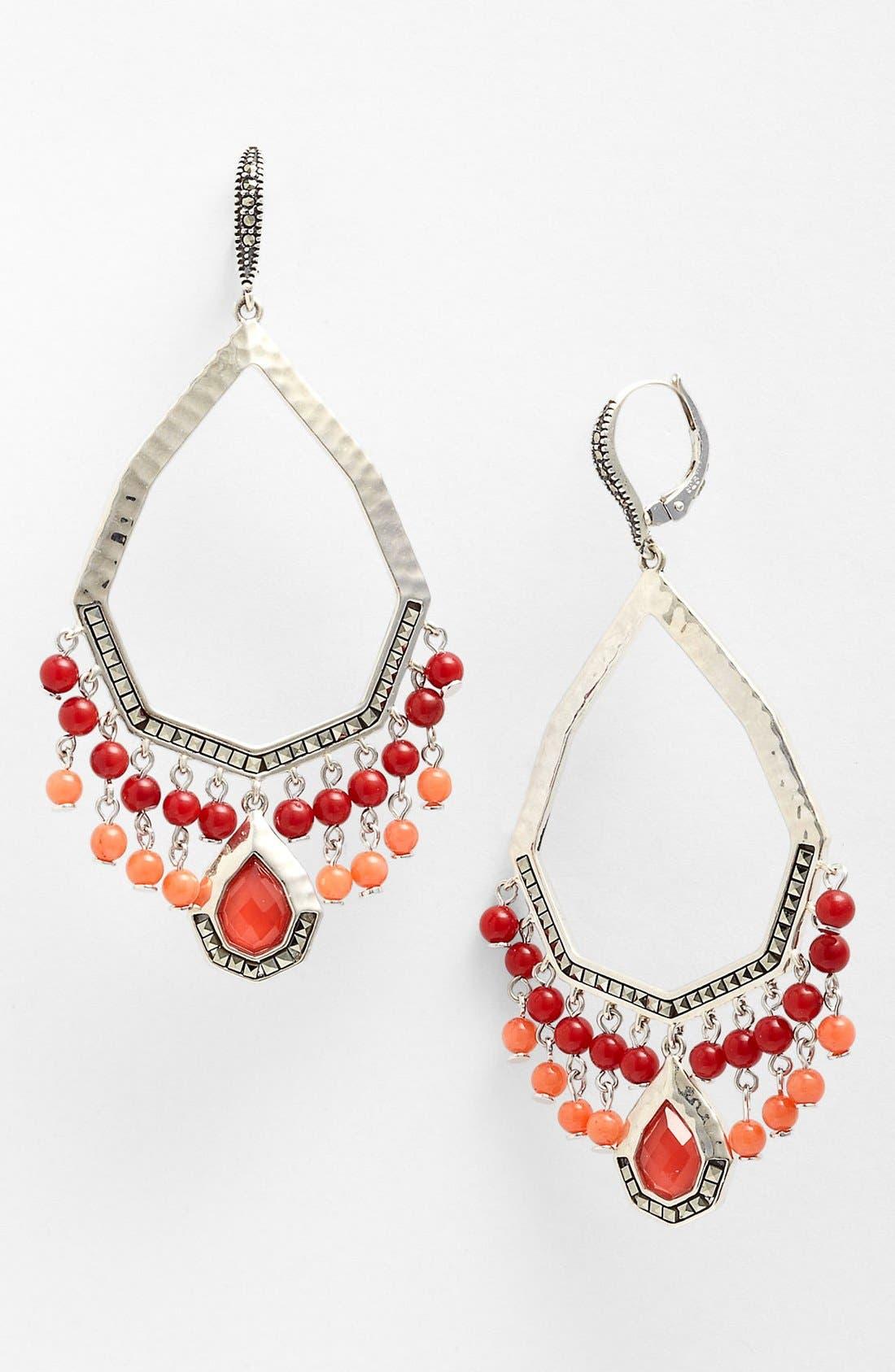 Alternate Image 1 Selected - Judith Jack Large Teardrop Chandelier Earrings