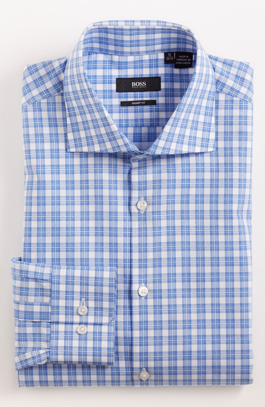 Main Image - BOSS HUGO BOSS 'Miles' Sharp Fit Dress Shirt
