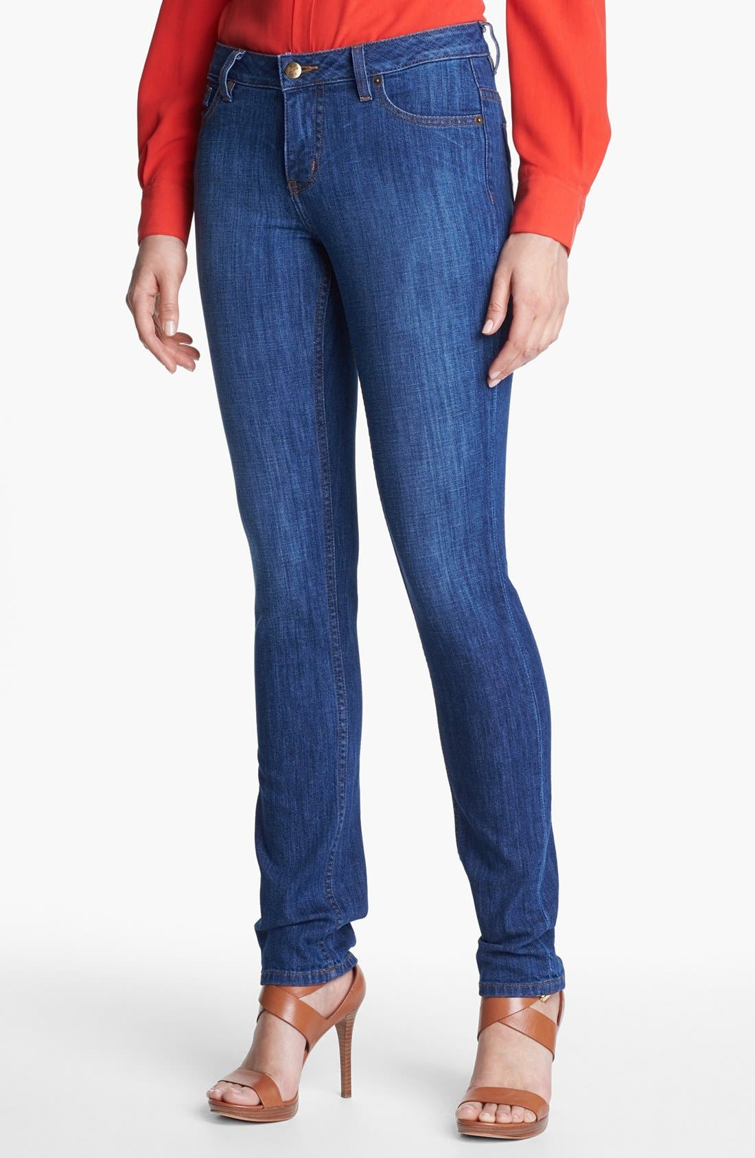 Main Image - Christopher Blue 'Sophia' Skinny Jeans