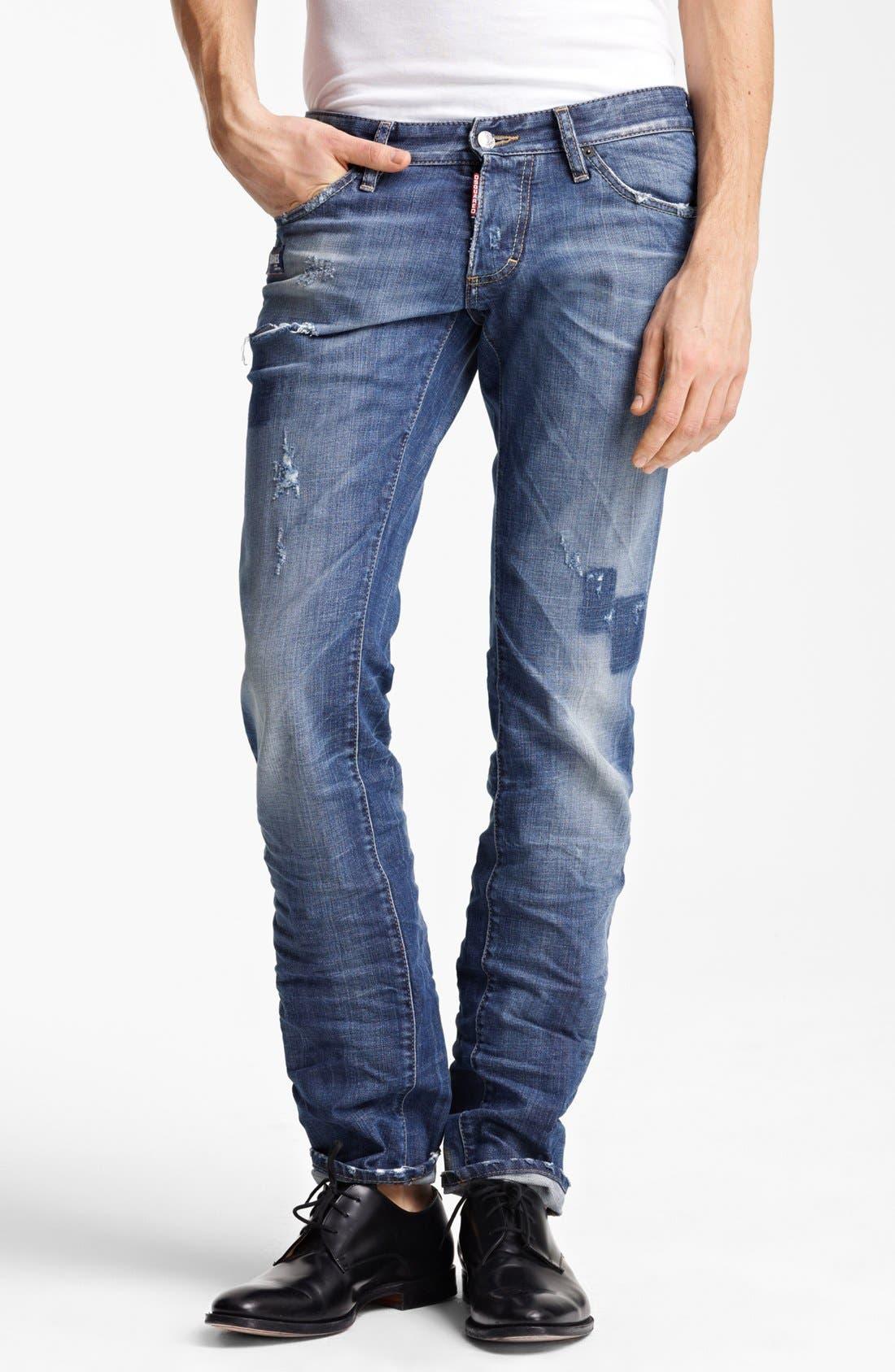 Alternate Image 1 Selected - Dsquared2 Slim Fit Jeans