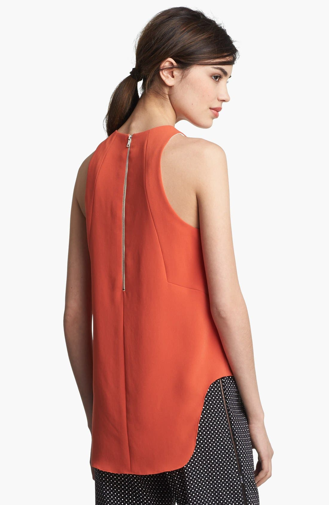 Alternate Image 3  - rag & bone 'Adeline' High/Low Racerback Top