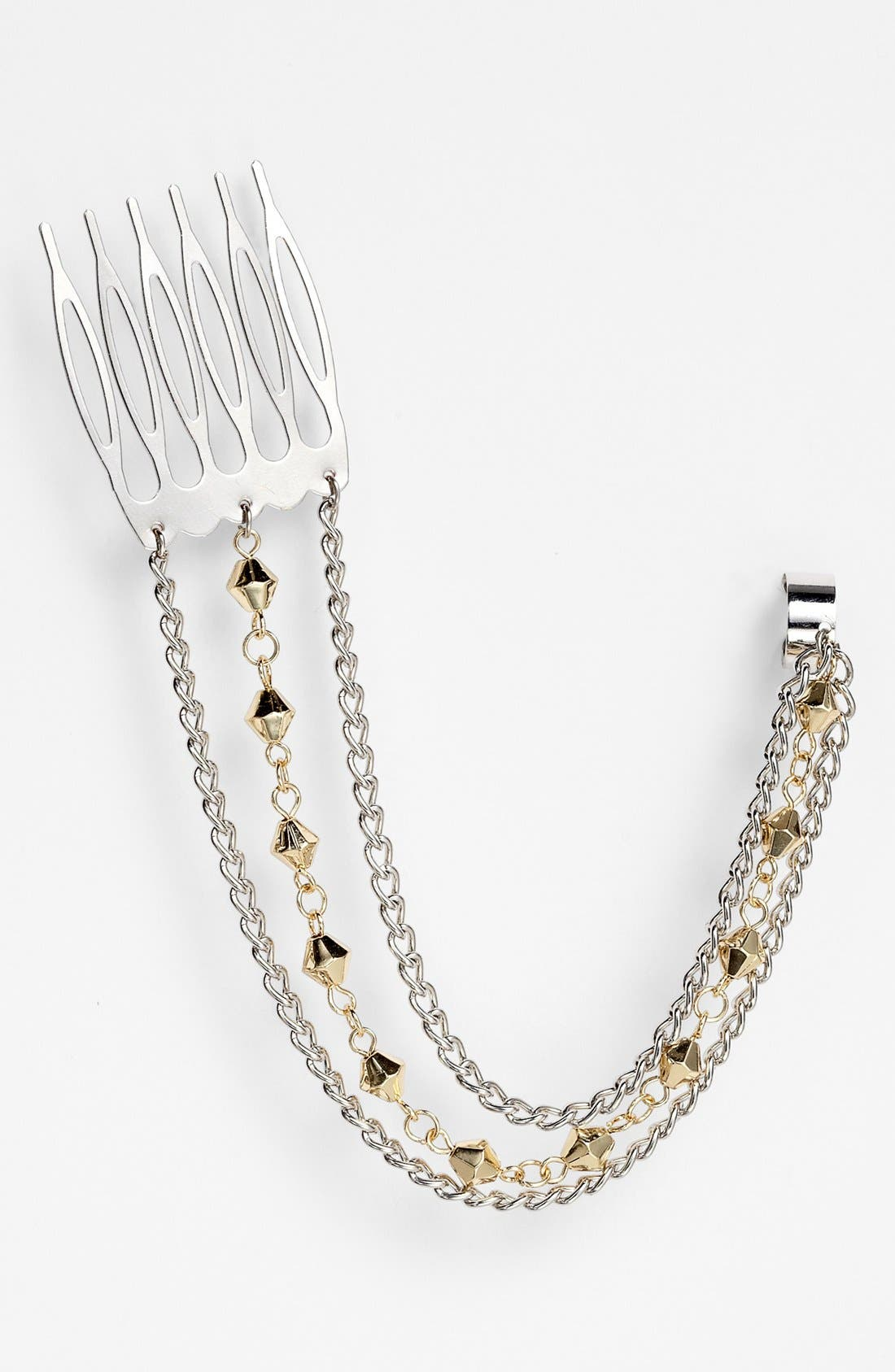 Alternate Image 1 Selected - Carole Chain Ear Cuff & Hair Comb