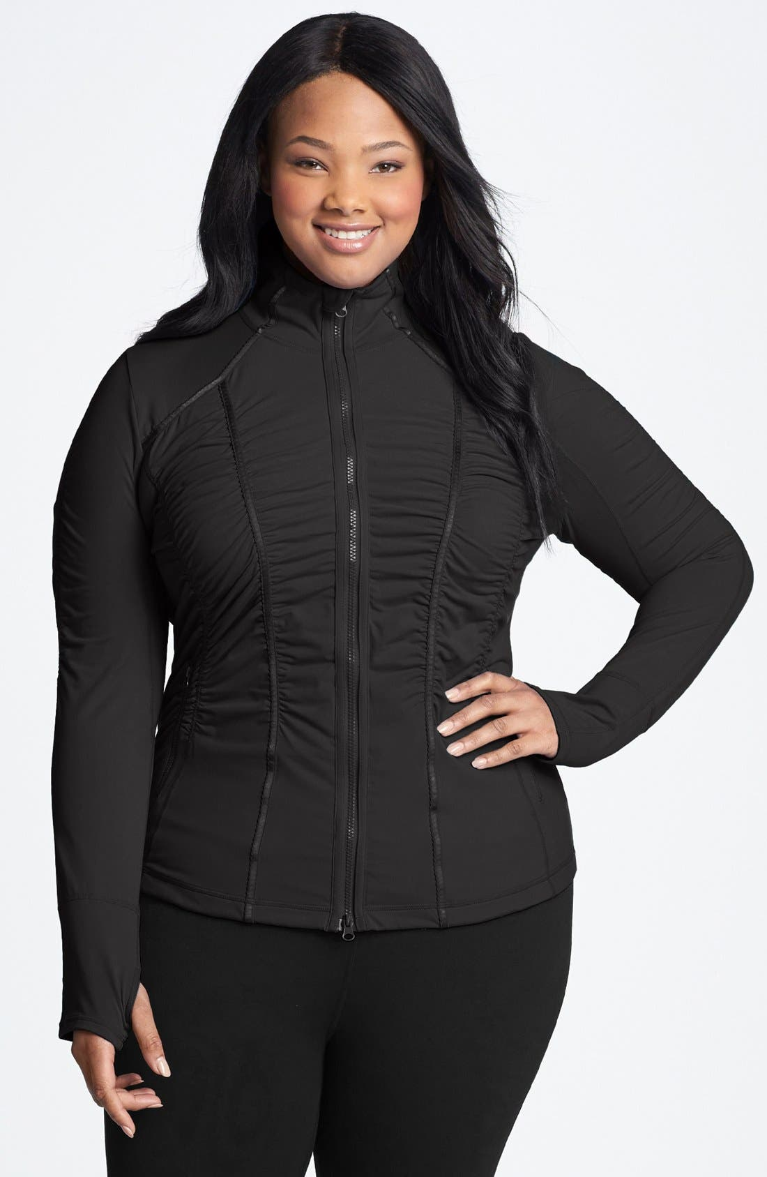 Alternate Image 1 Selected - Zella 'Trinity' Jacket (Plus Size)