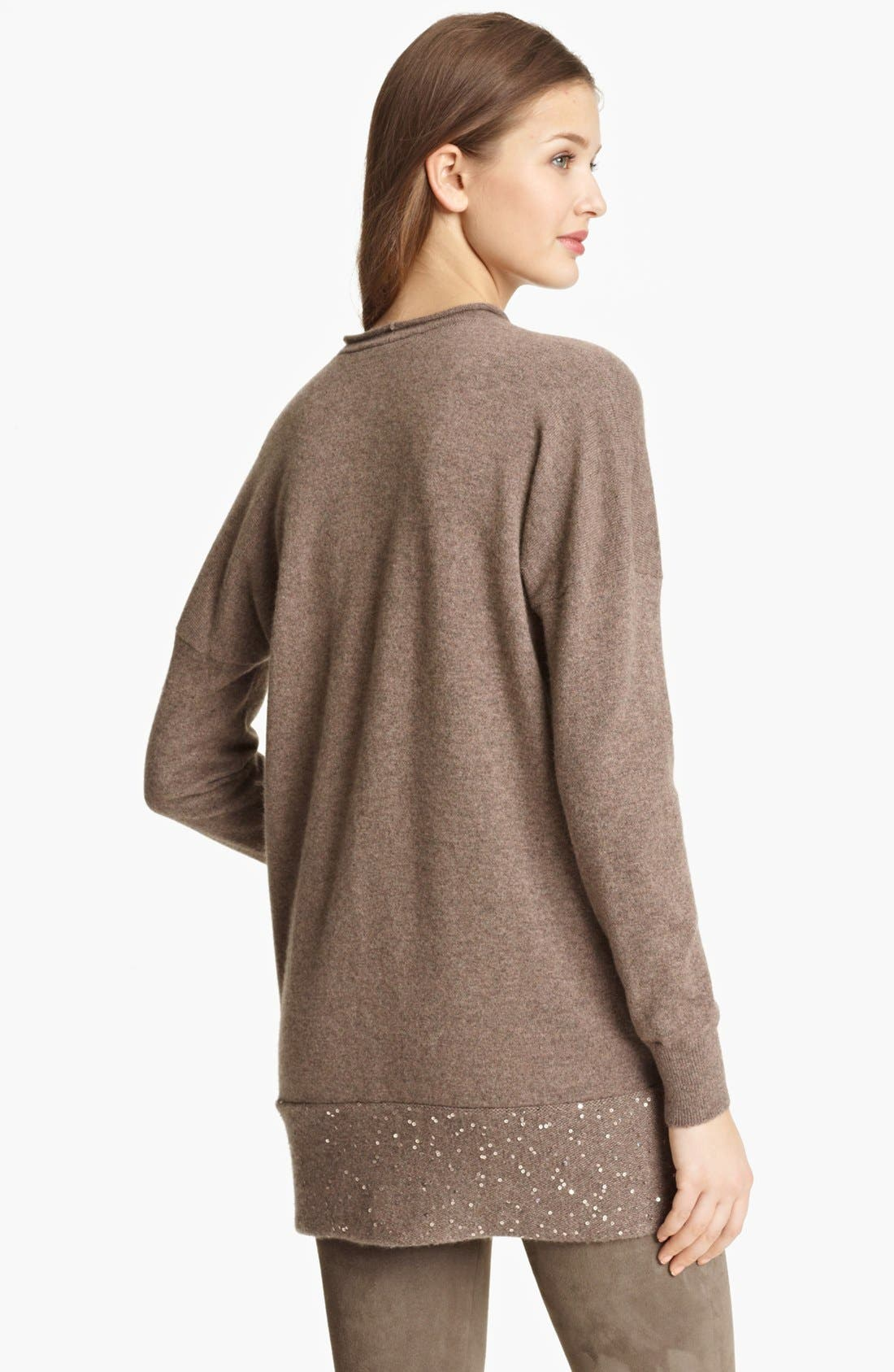Alternate Image 2  - Fabiana Filippi Cashmere Cowl Neck Sweater