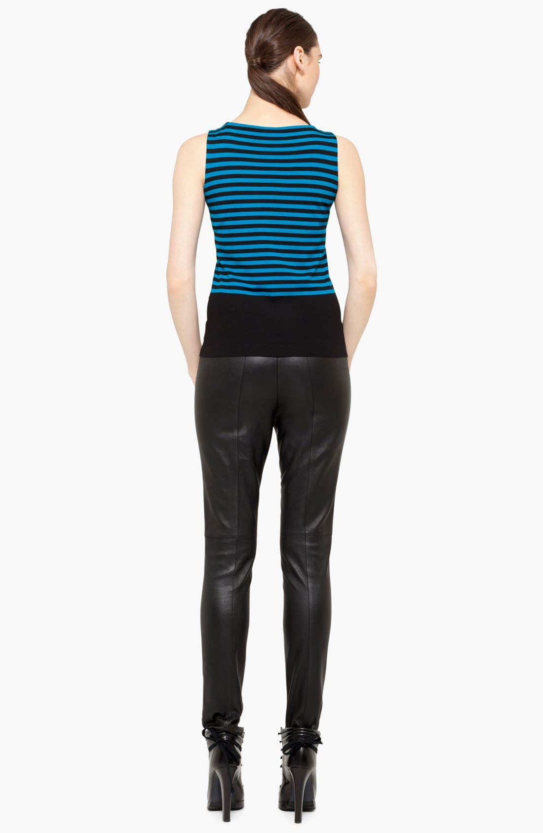 Alternate Image 4  - Akris punto Stripe Wool Tank