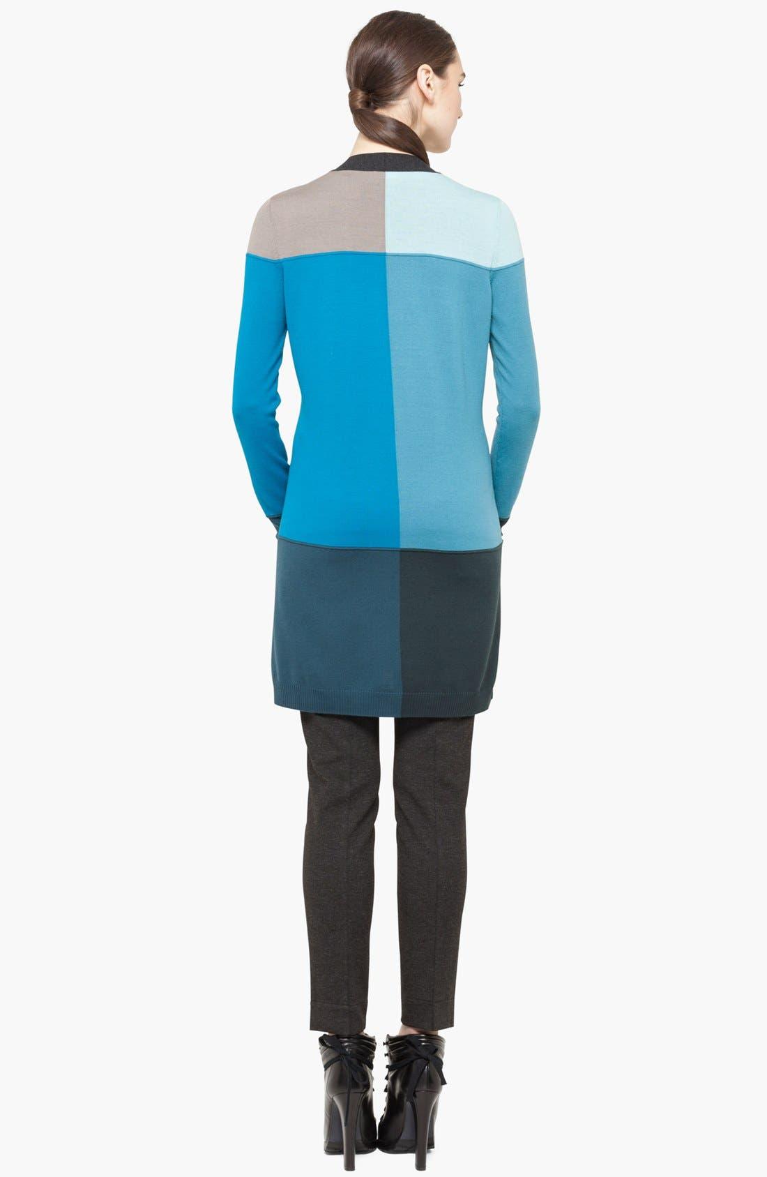 Alternate Image 4  - Akris punto Intarsia Knit Wool Cardigan