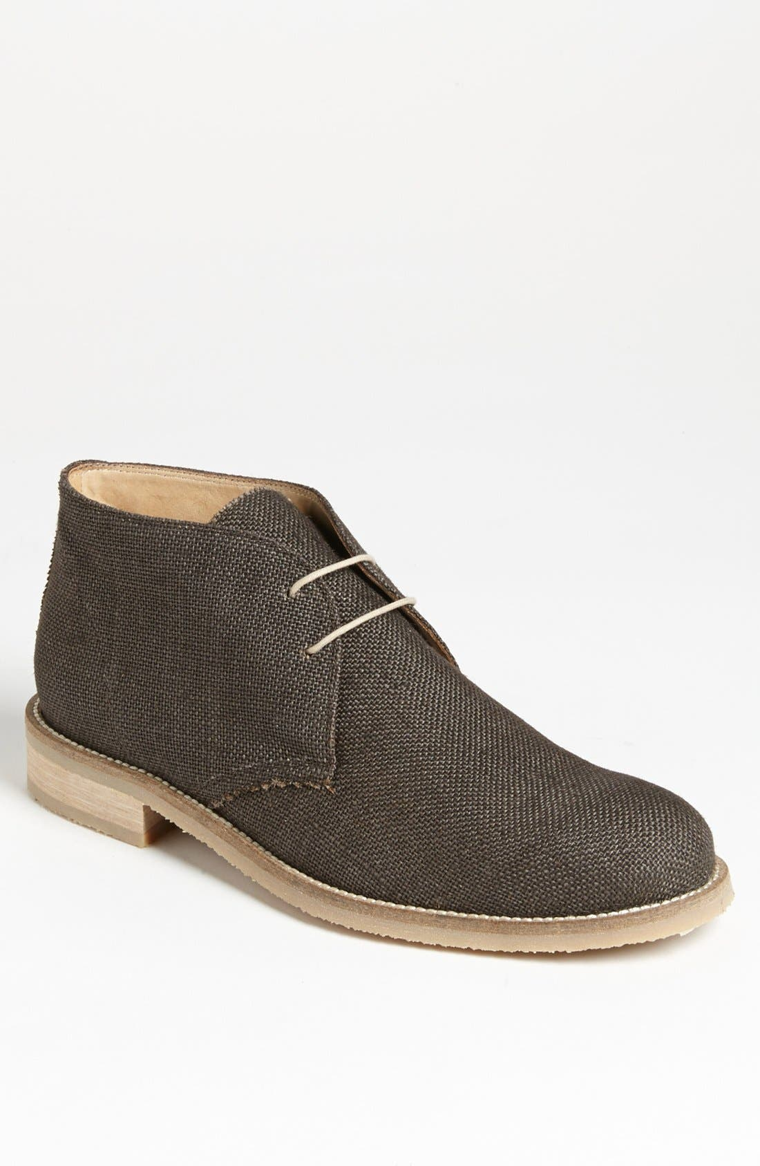 Alternate Image 1 Selected - Thomas Dean Linen Chukka Boot