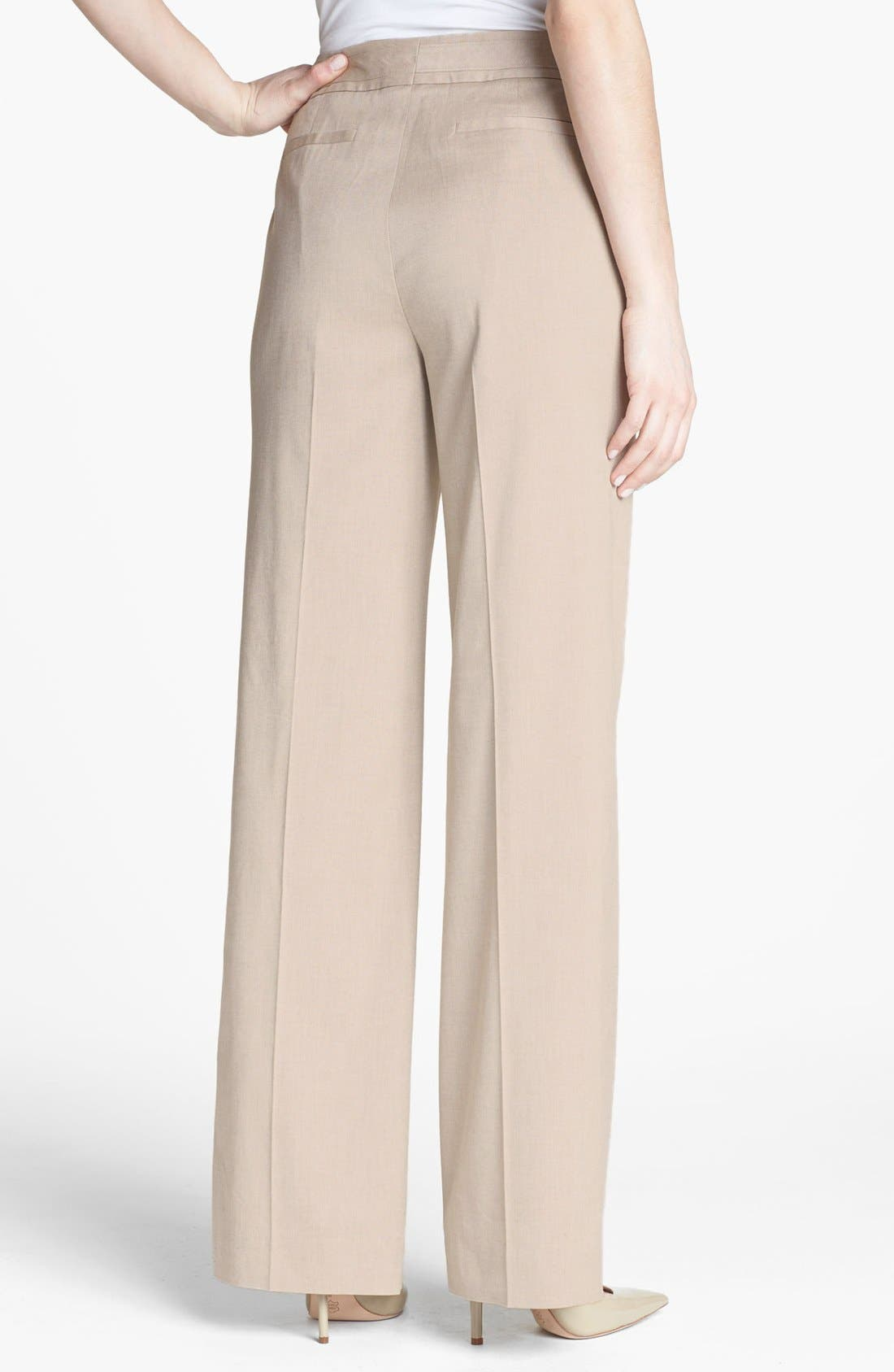 Alternate Image 2  - Classiques Entier® 'Chic Twill' High Waist Pants