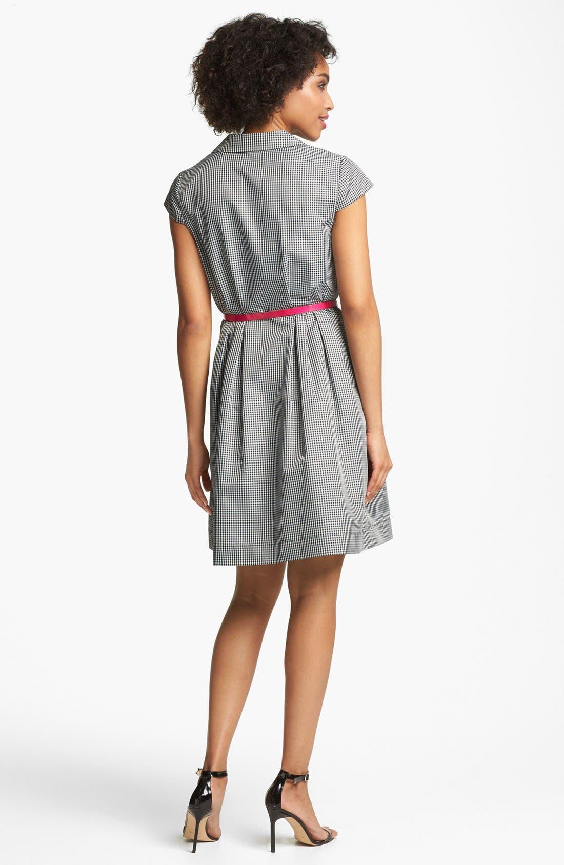 Alternate Image 2  - Ivy & Blu Gingham Shirtdress