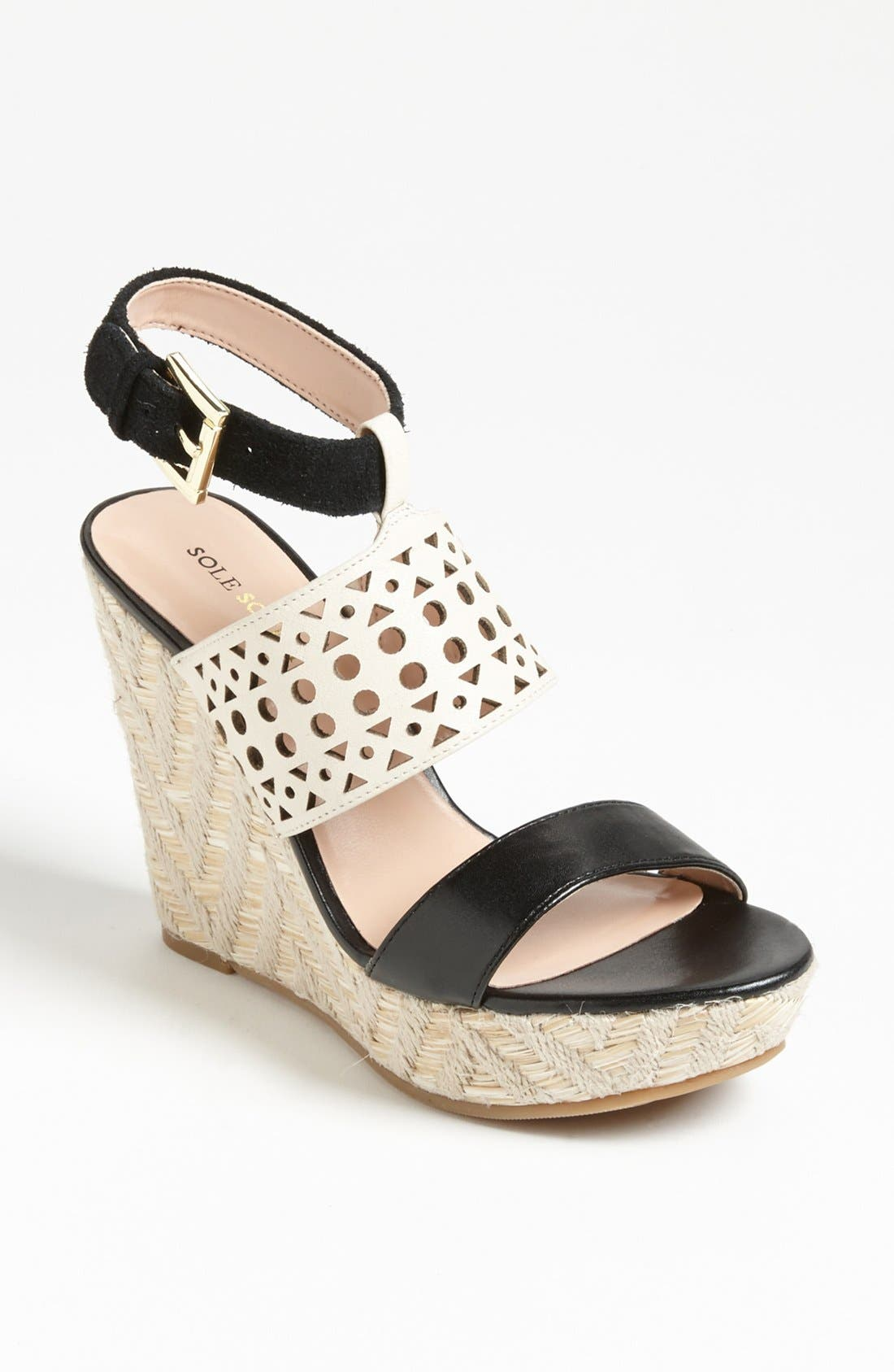 Alternate Image 1 Selected - Sole Society 'Bristol' Wedge Sandal