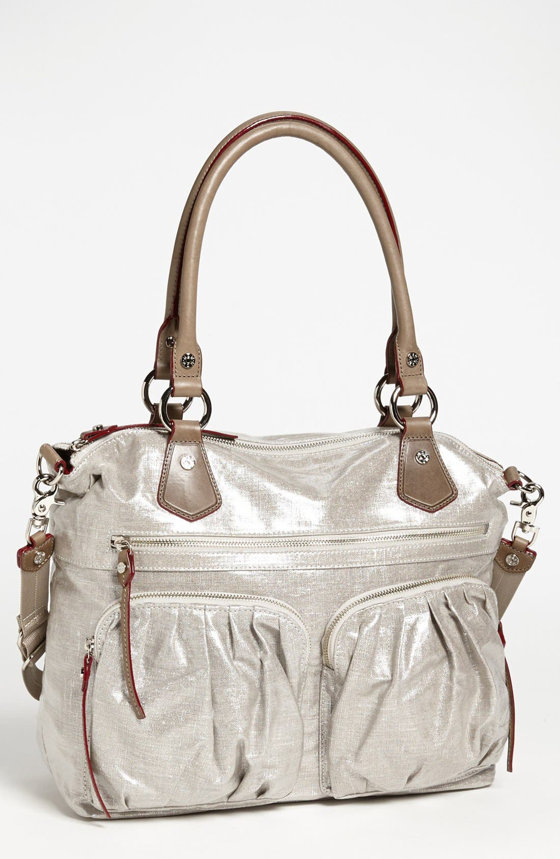 Alternate Image 1 Selected - MZ Wallace 'Belle' Glazed Linen Tote