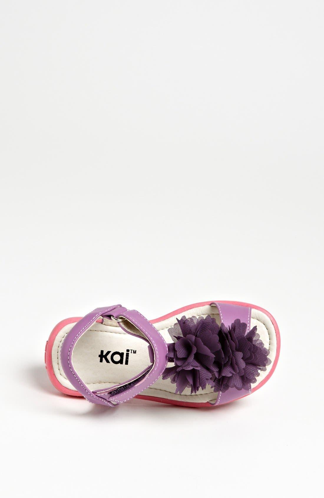Alternate Image 3  - See Kai Run 'Genevieve Blossom' Sandal (Toddler & Little Kid)