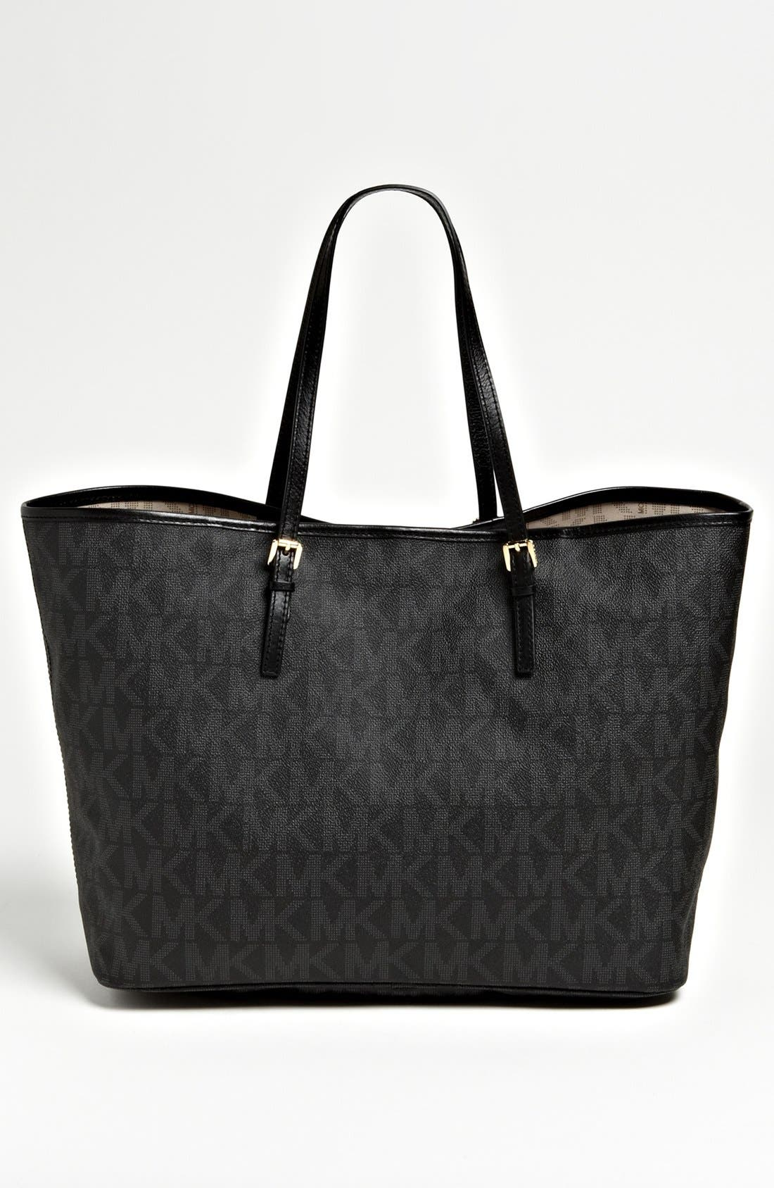 Alternate Image 4  - MICHAEL Michael Kors 'Jet Set - Medium' Travel Tote